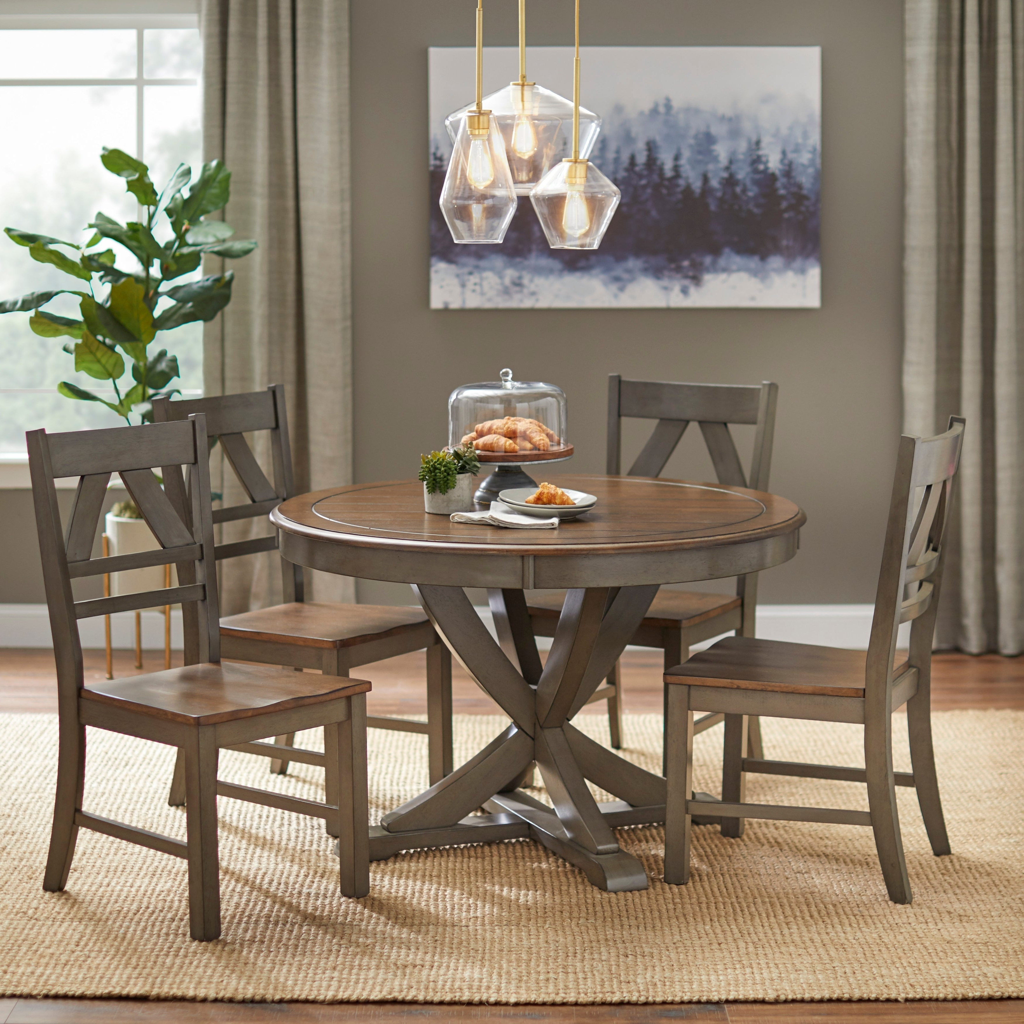 Bedfo 3 Piece Dining Sets Pertaining To Popular Buy 3 Piece Sets Kitchen & Dining Room Sets Online At Overstock (View 7 of 25)