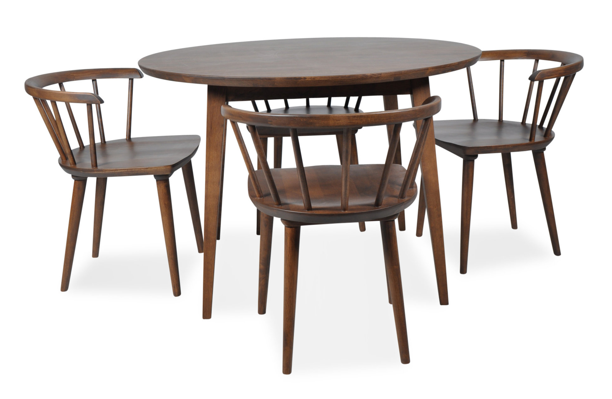 Best And Newest 5 Piece Breakfast Nook Dining Sets Regarding Burgan 5 Piece Solid Wood Breakfast Nook Dining Set & Reviews (View 7 of 25)
