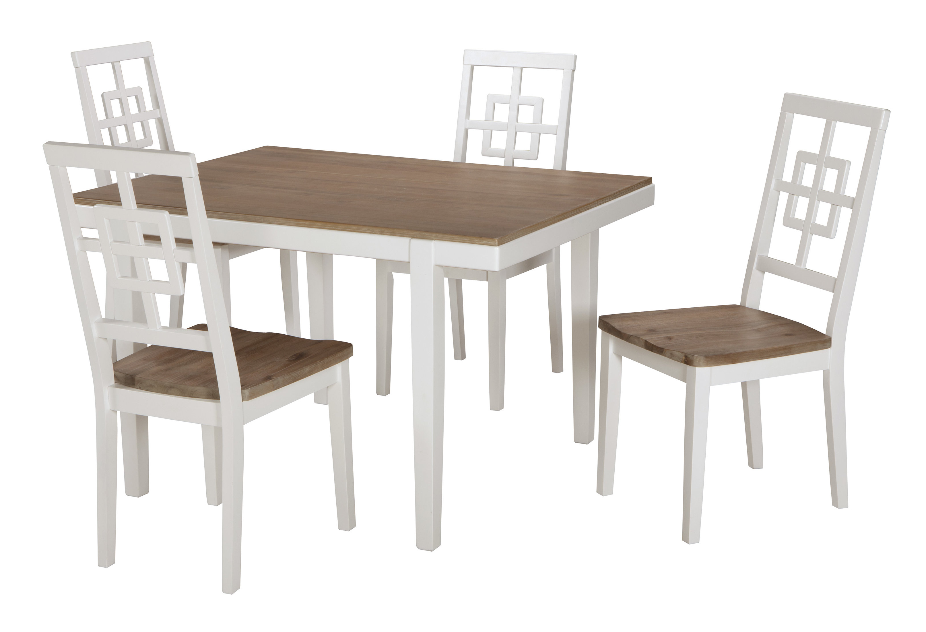 Best And Newest Beachcrest Home Nicol 5 Piece Dining Set & Reviews (View 9 of 25)