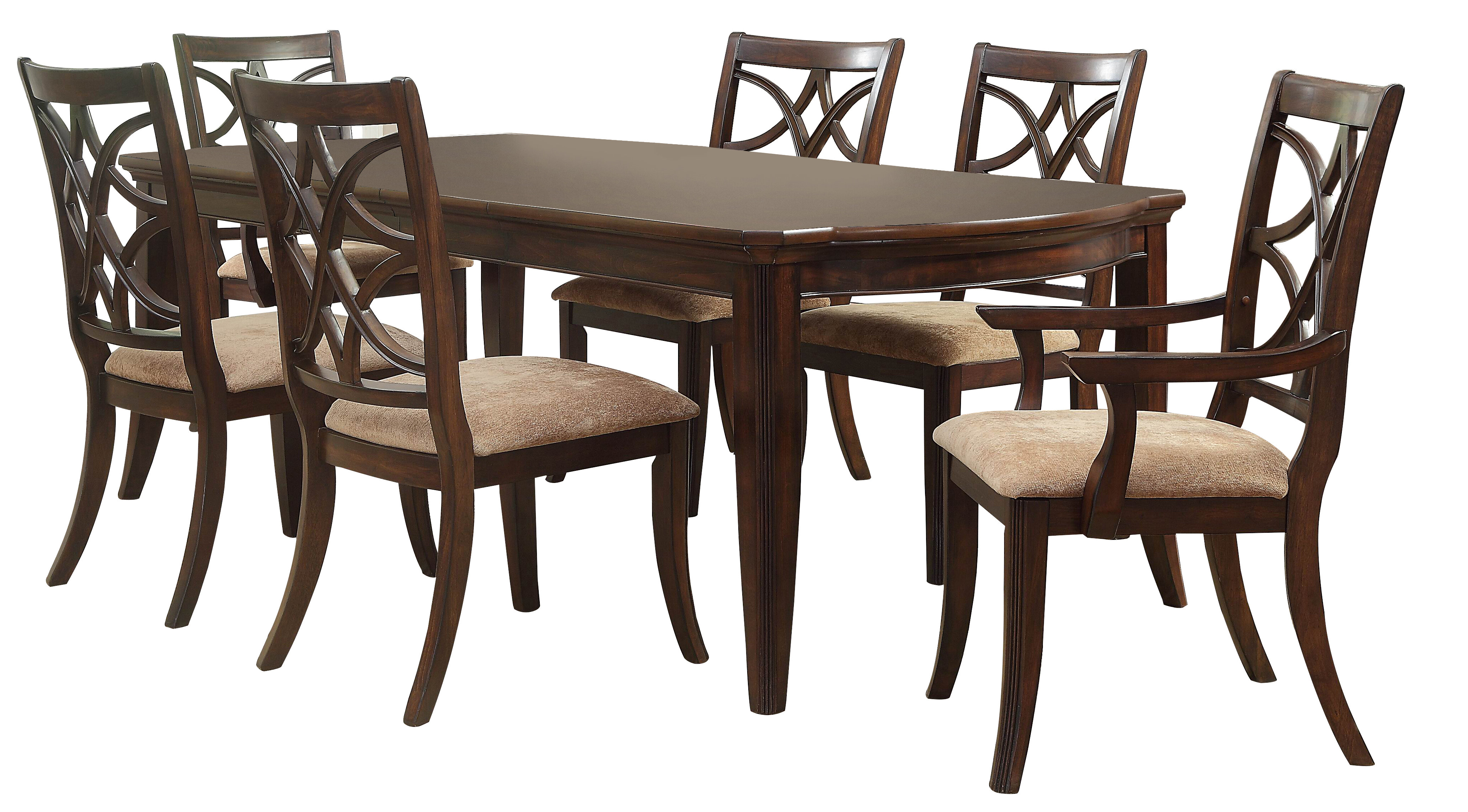 Best And Newest Darby Home Co Kinsman 7 Piece Extendable Dining Set (View 3 of 25)