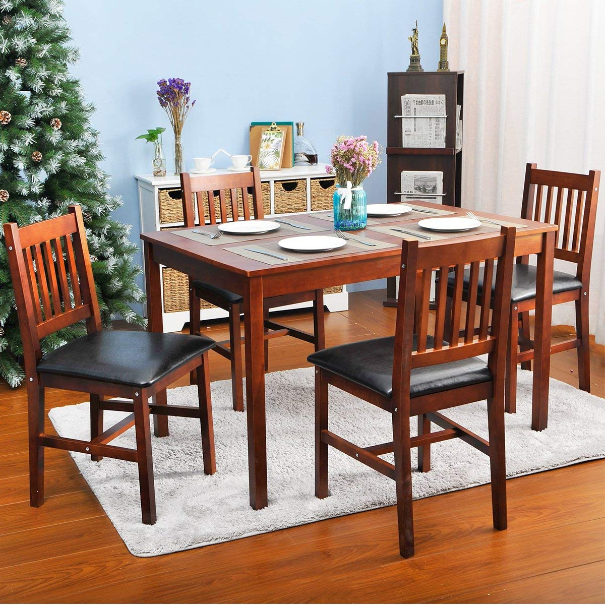 Best And Newest Dining Table Chair Set & Simple Living Olin Dining Sets Sc 1 St Intended For Kieffer 5 Piece Dining Sets (View 5 of 25)