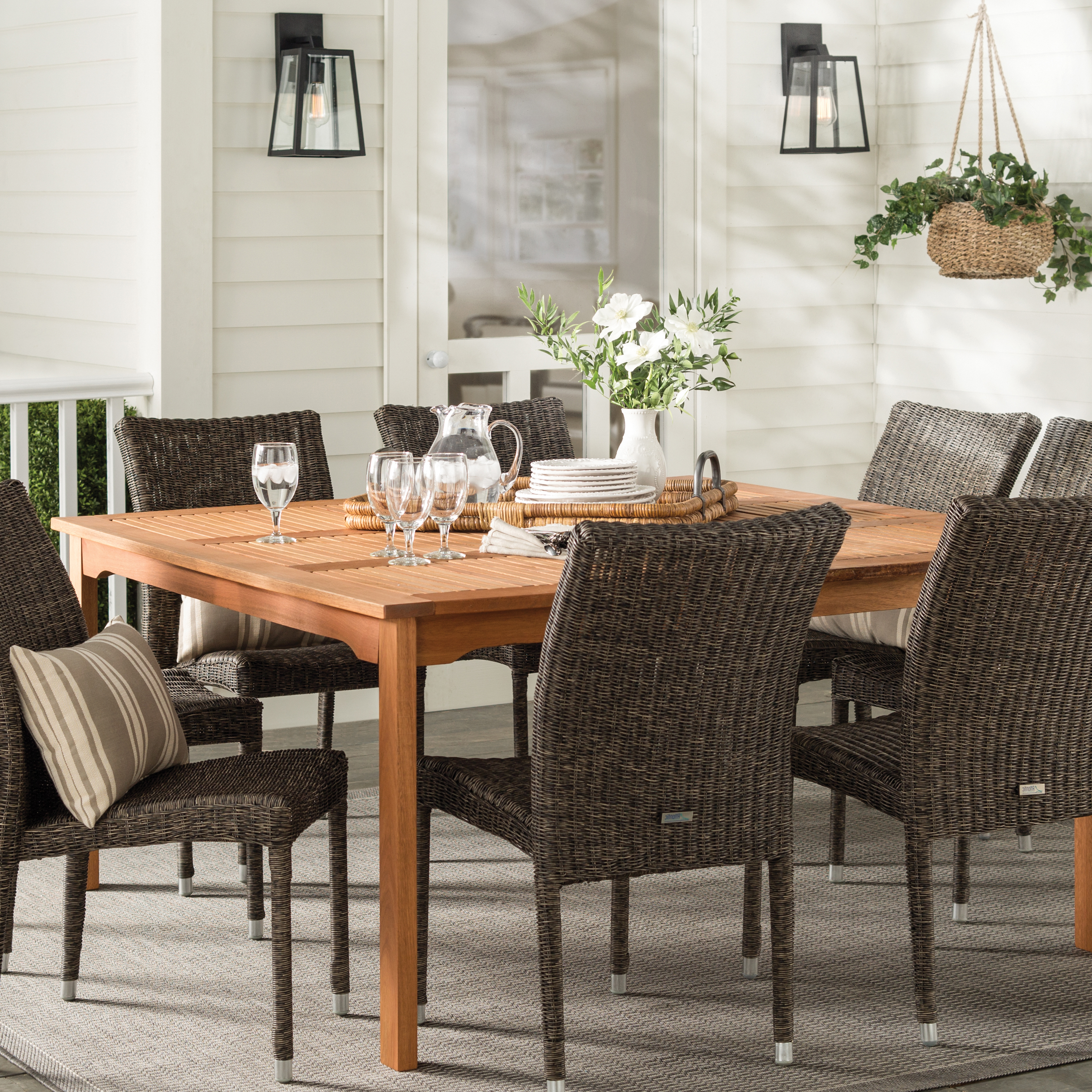 Best And Newest Farmhouse & Rustic Outdoor Tables (View 2 of 25)