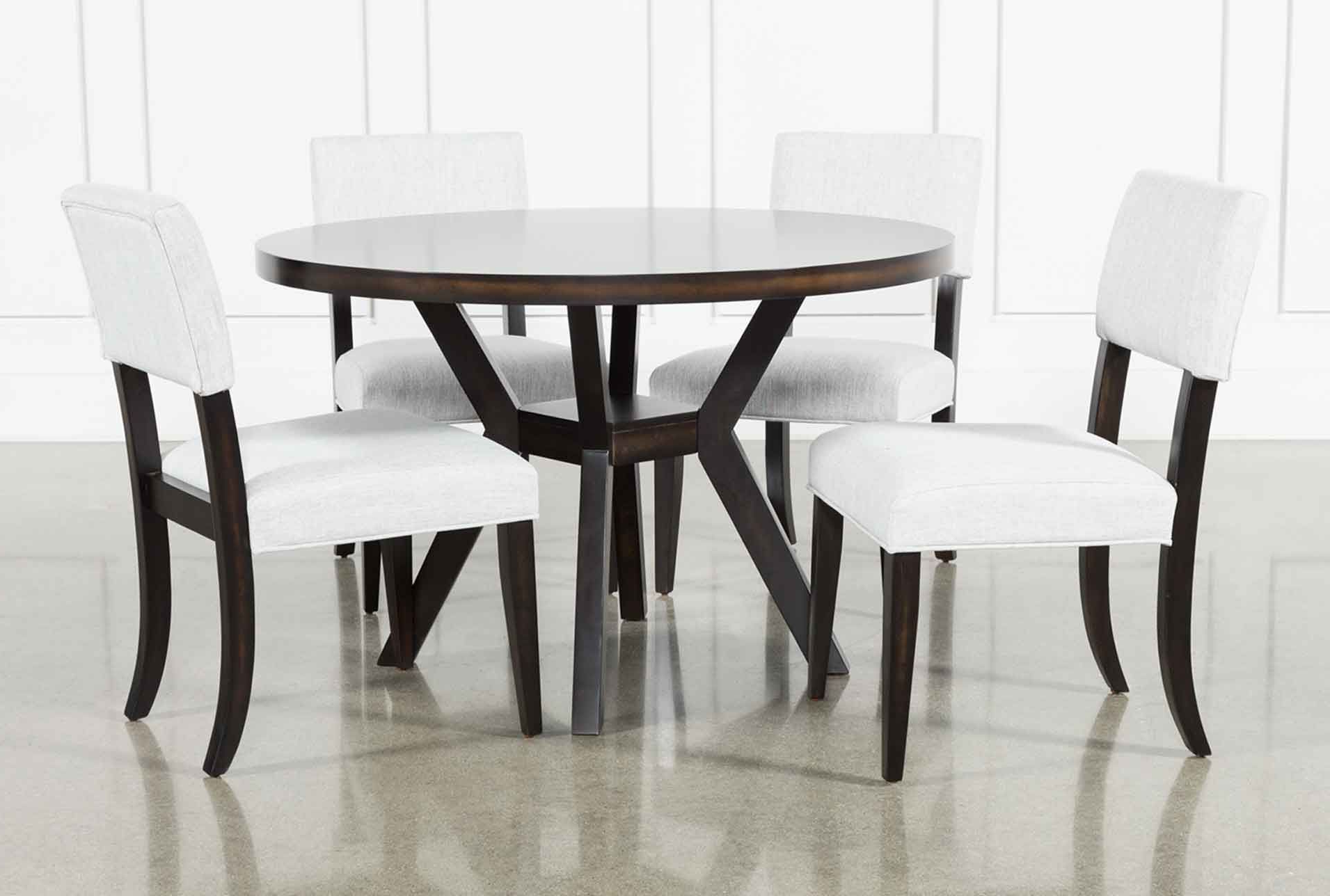 Best And Newest Macie Black 5 Piece Dining Set In (View 6 of 25)