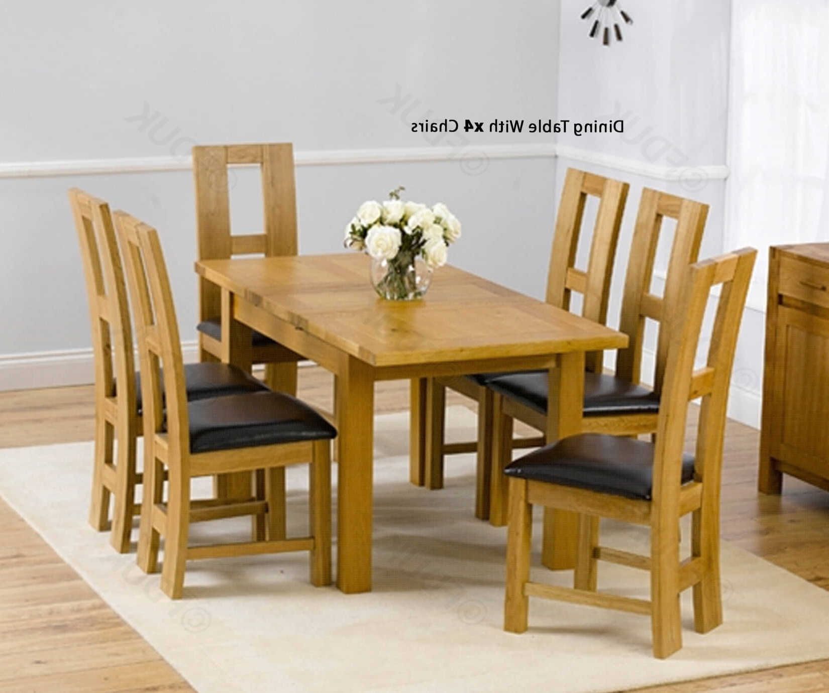 Best And Newest Mark Harris Rustique 120Cm Solid Oak Rectangular Extending Dining Throughout John 4 Piece Dining Sets (View 5 of 25)