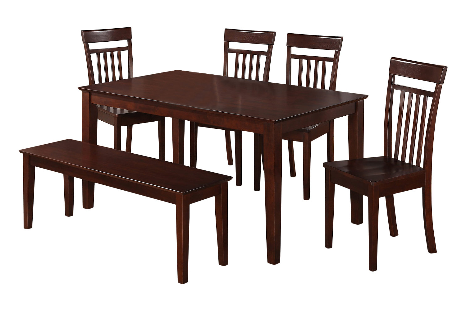 Best And Newest Smyrna 3 Piece Dining Sets Inside Charlton Home Smyrna 6 Piece Dining Set & Reviews (View 4 of 25)