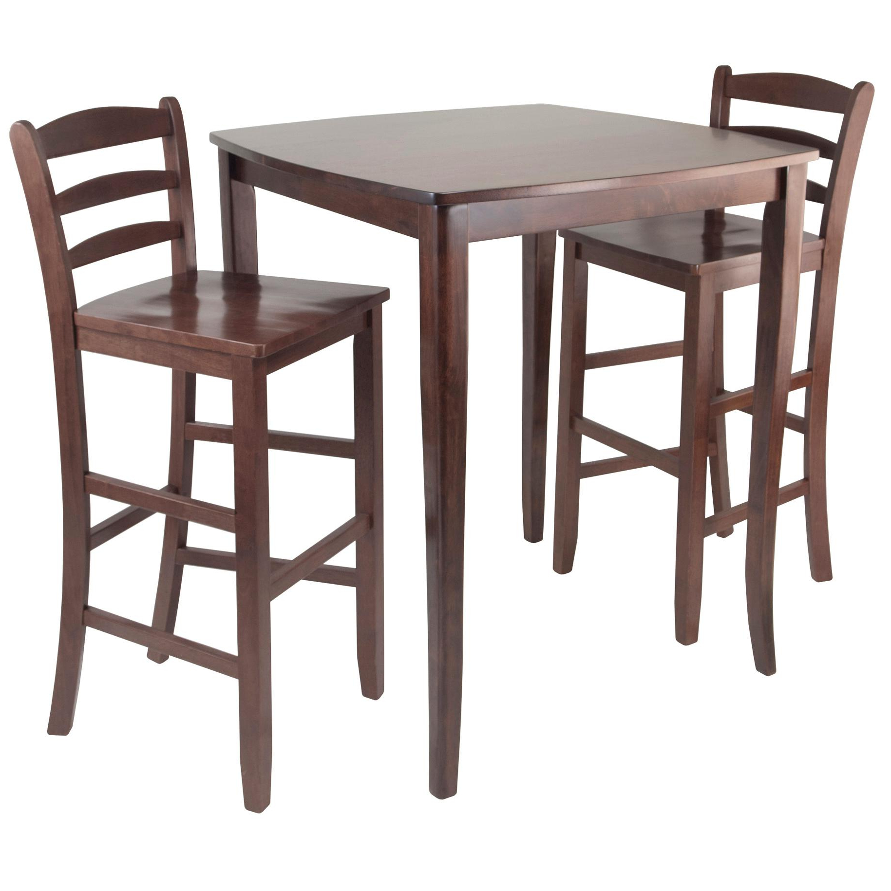 Best And Newest Winsome 3 Piece Counter Height Dining Sets In Amazon – Winsome Inglewood High/pub Dining Table With Ladder (View 2 of 25)