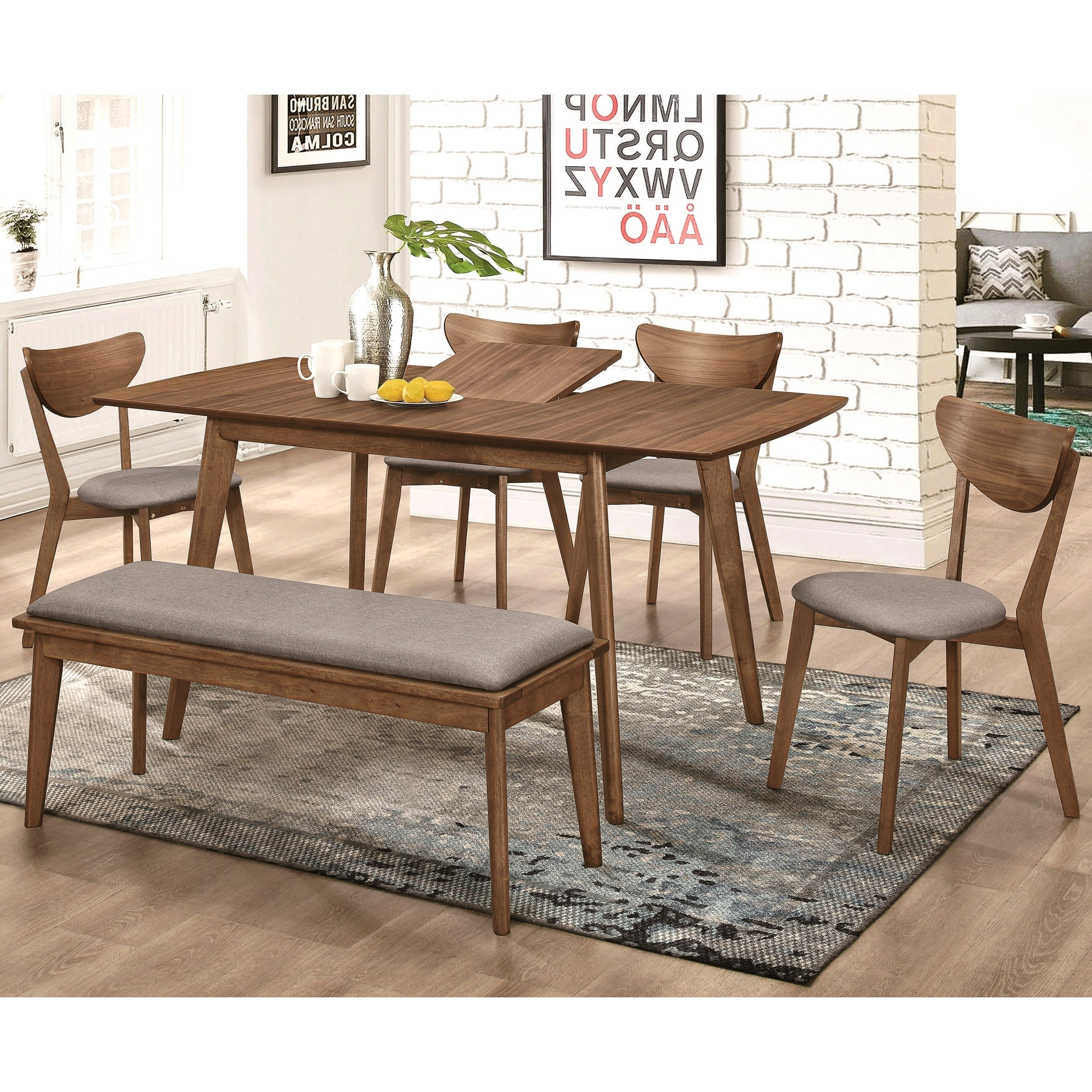 Buy 6 Piece Sets Kitchen & Dining Room Sets Online At Overstock With Best And Newest Osterman 6 Piece Extendable Dining Sets (Set Of 6) (View 9 of 25)