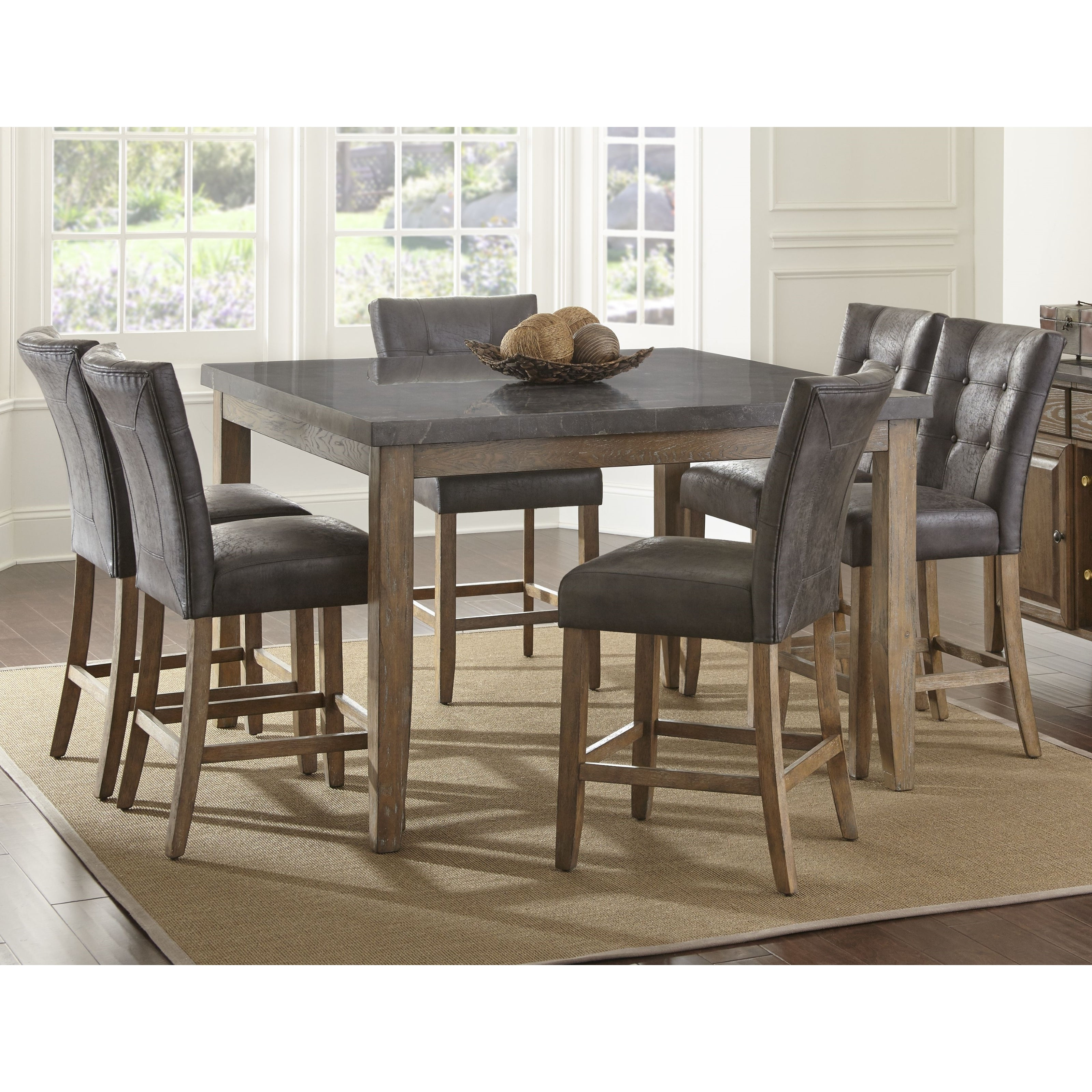 Buy 7 Piece Sets Kitchen & Dining Room Sets Online At Overstock Pertaining To Fashionable Autberry 5 Piece Dining Sets (View 8 of 25)