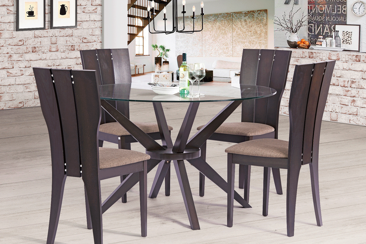 Calla 5 Piece Dining Sets Inside Latest Dining Sets Archives – Furniture Palace (View 4 of 25)