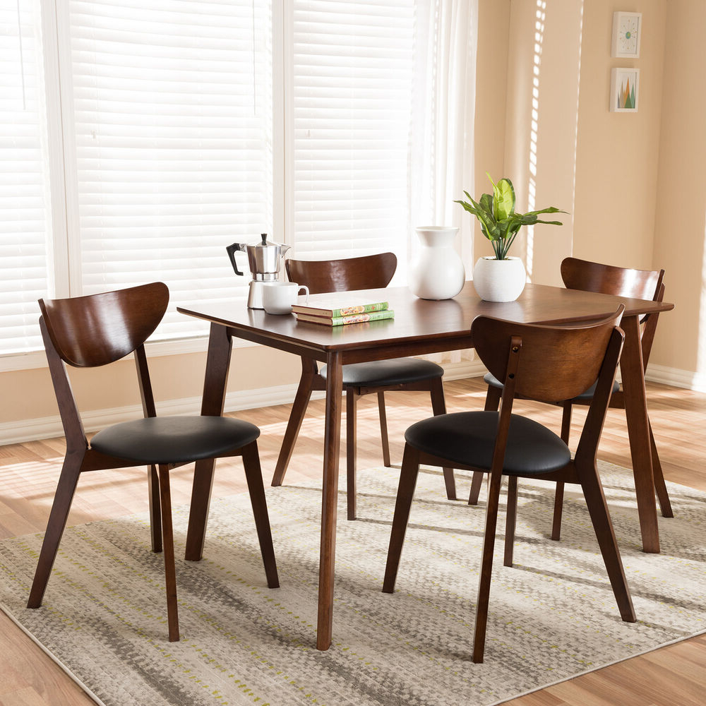 Calla 5 Piece Dining Sets Throughout Most Recently Released Latitude Run Serpens 5 Piece Dining Set (View 11 of 25)