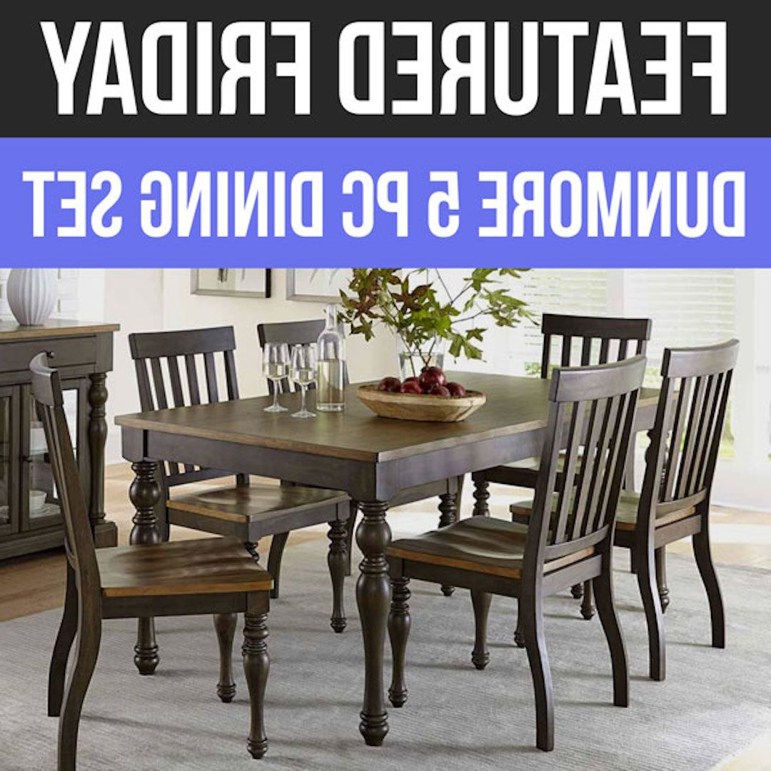 Cargo 5 Piece Dining Sets Inside Most Current When All Is Said & Dunmore: We Love This New Dining Set! (View 6 of 25)