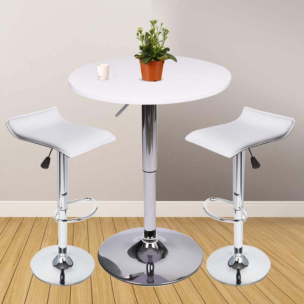 Cheap Pub Table White, Find Pub Table White Deals On Line At Alibaba Within Fashionable Kaya 3 Piece Dining Sets (View 5 of 25)