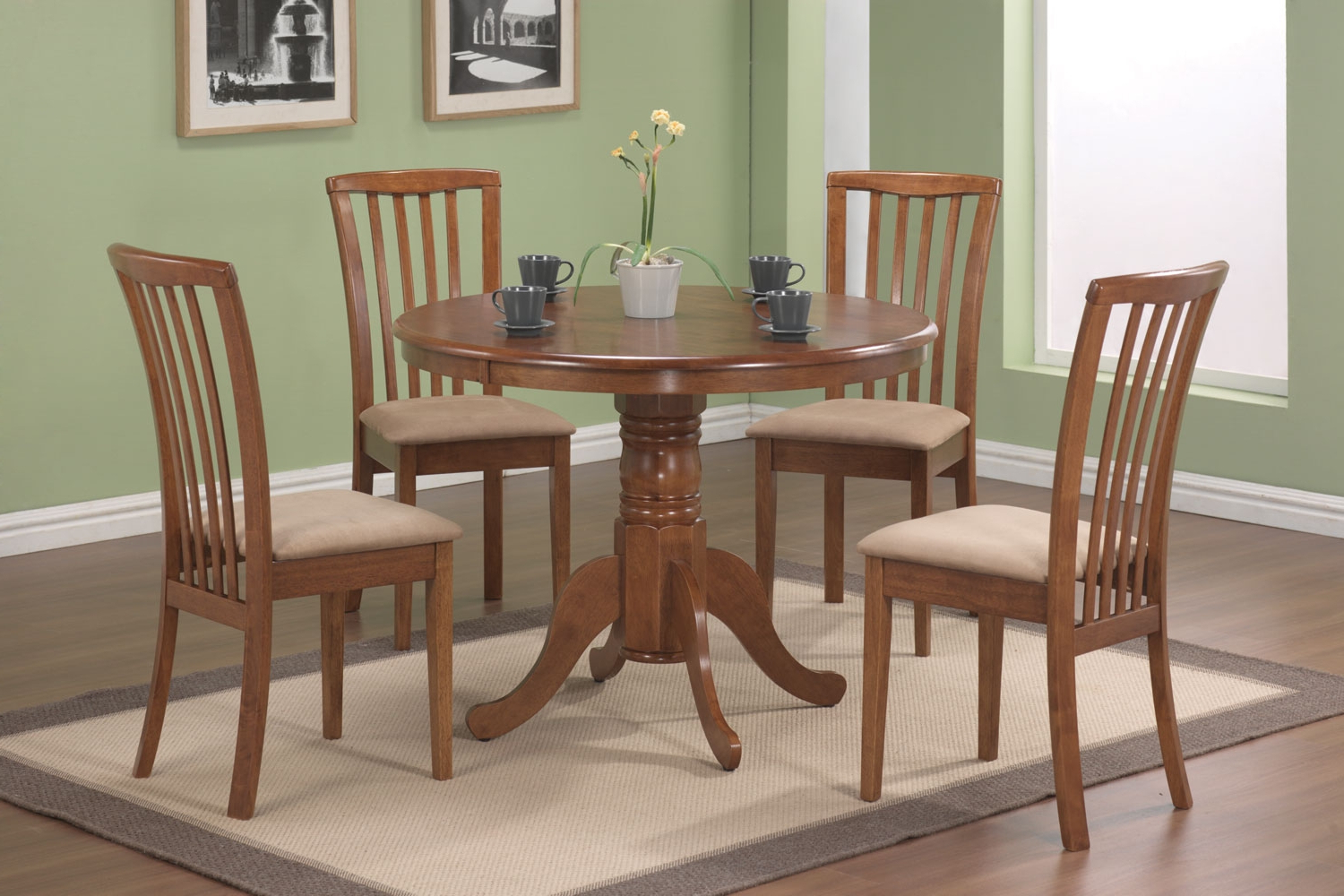 Cincinnati 3 Piece Dining Sets Within Most Recent Dinette Sets – Sims Furniture Company (View 8 of 25)