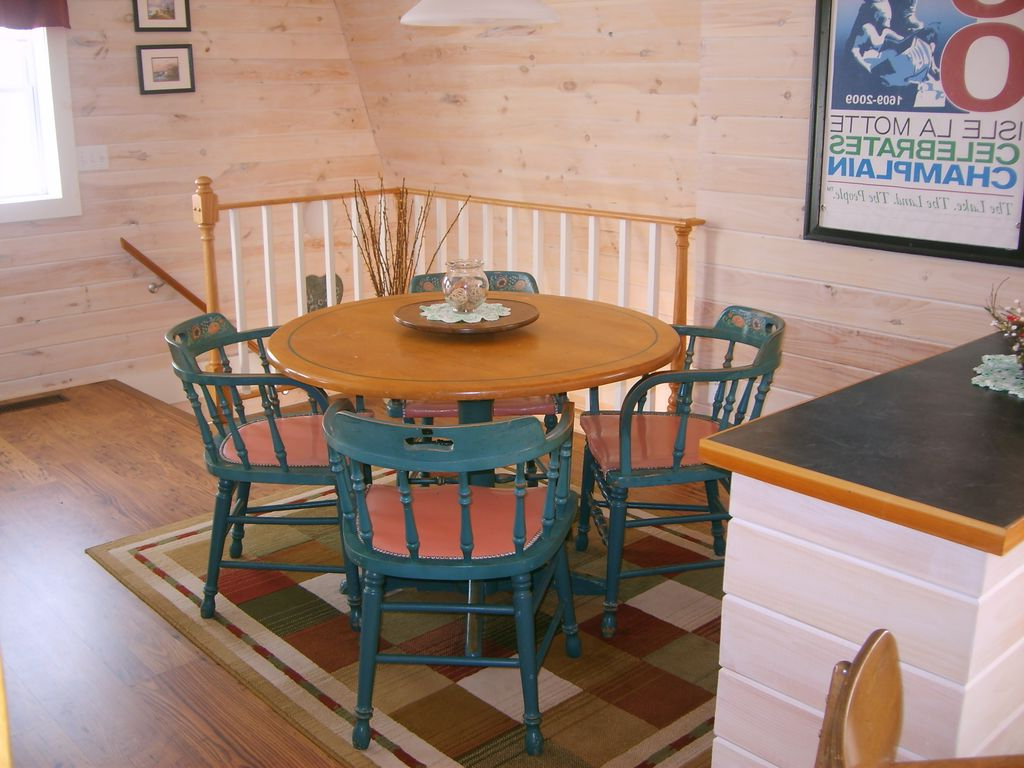 Classic Carriage Barn On The West Shore Of Historic Isle Lamotte Regarding Recent Lamotte 5 Piece Dining Sets (View 19 of 25)