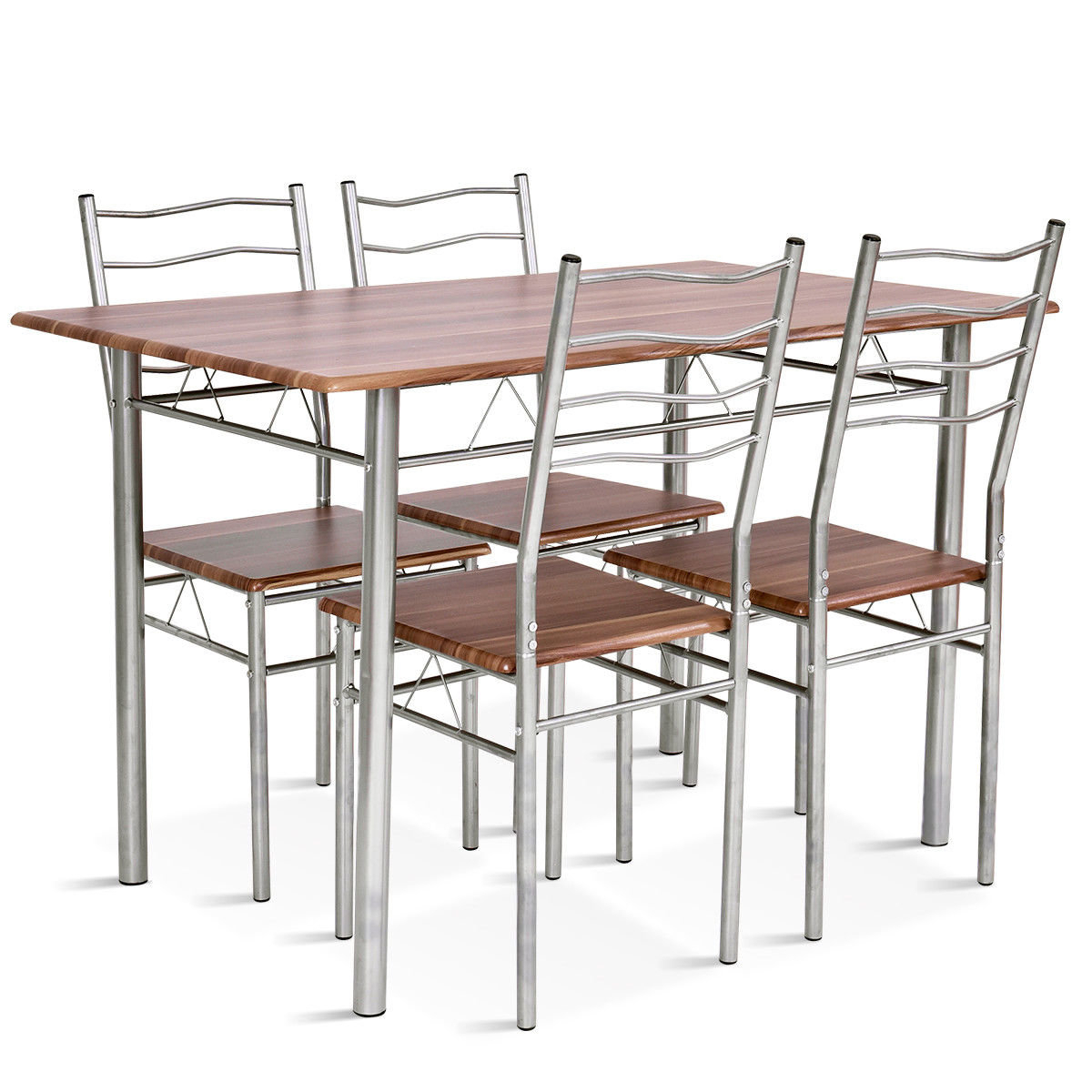 Conover 5 Piece Dining Sets Throughout Well Known Winston Porter Casiano 5 Piece Dining Set & Reviews (View 10 of 25)