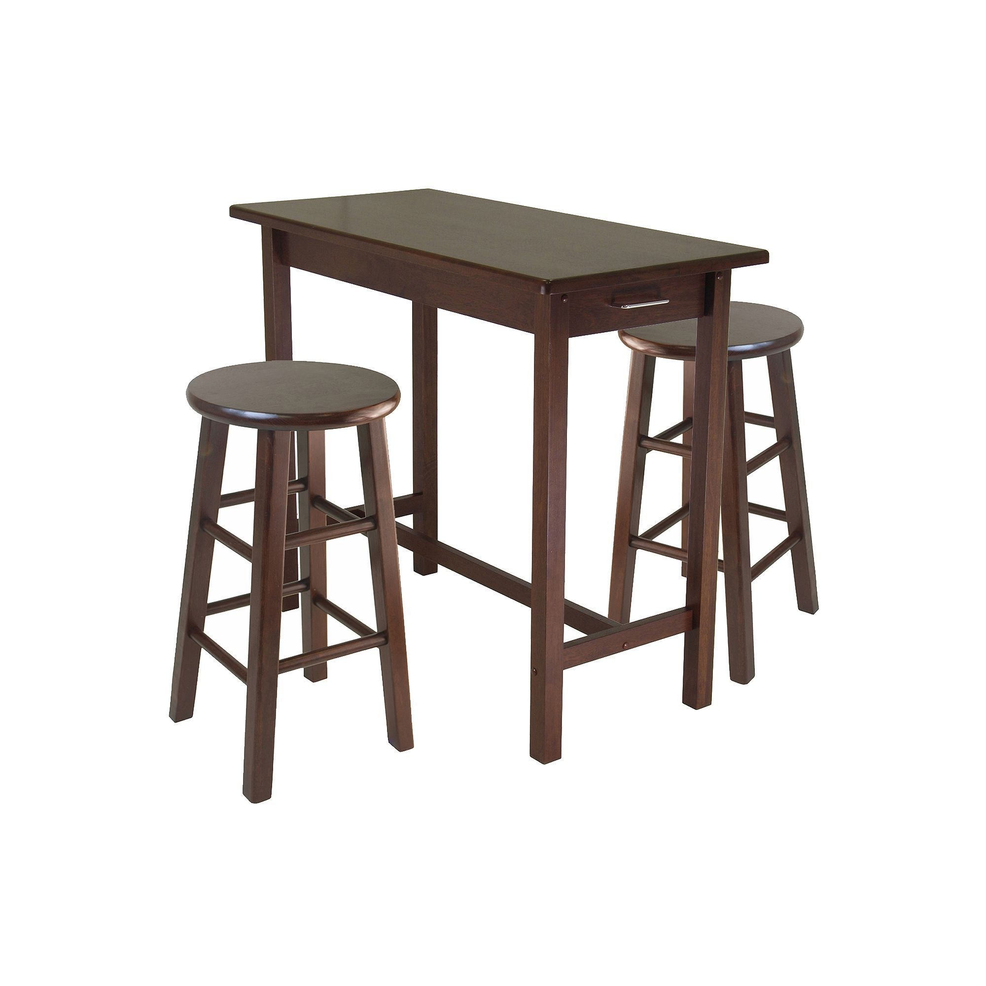 Counter Pertaining To Well Known Winsome 3 Piece Counter Height Dining Sets (View 4 of 25)