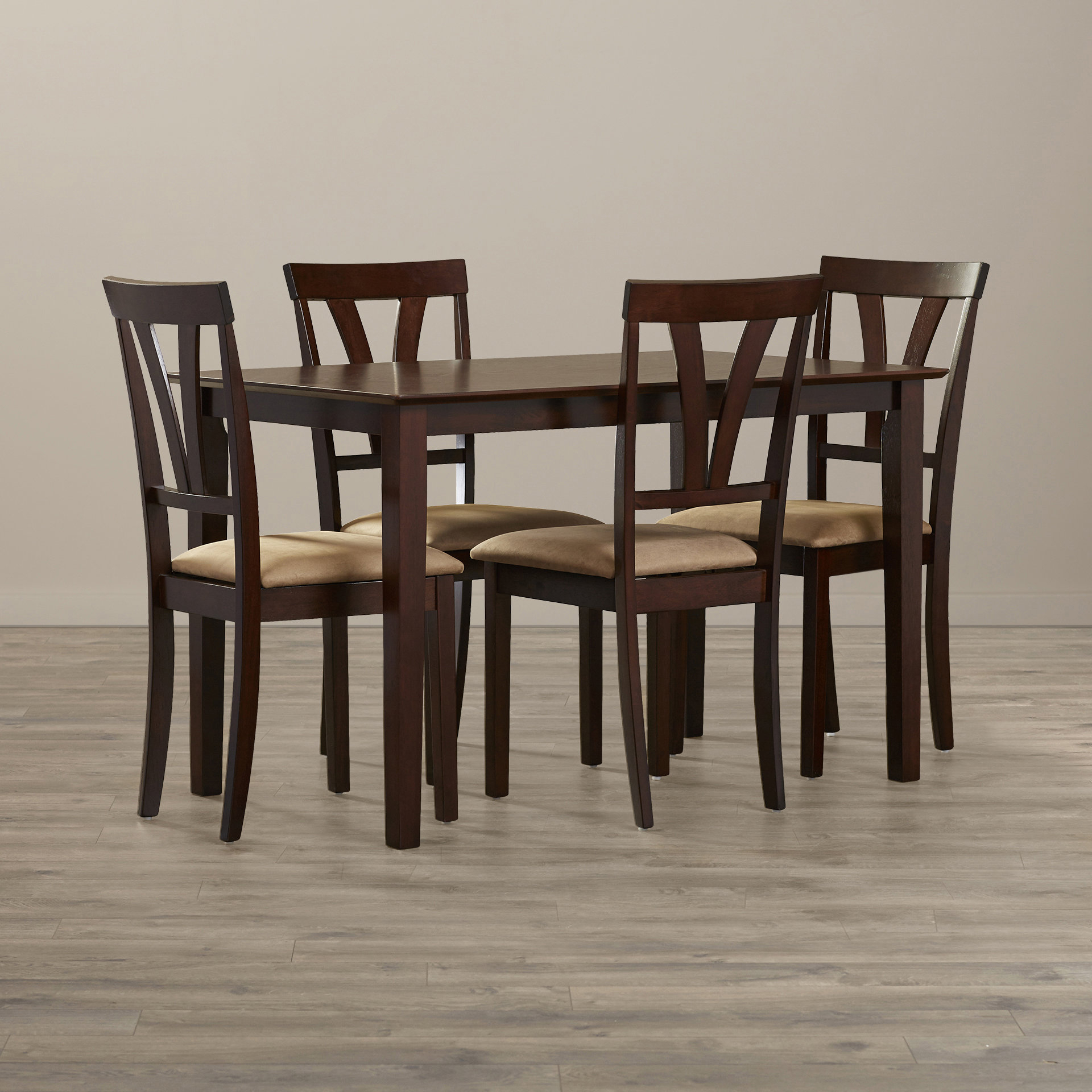 Current Andover Mills Donald 5 Piece Dining Set & Reviews (View 8 of 25)