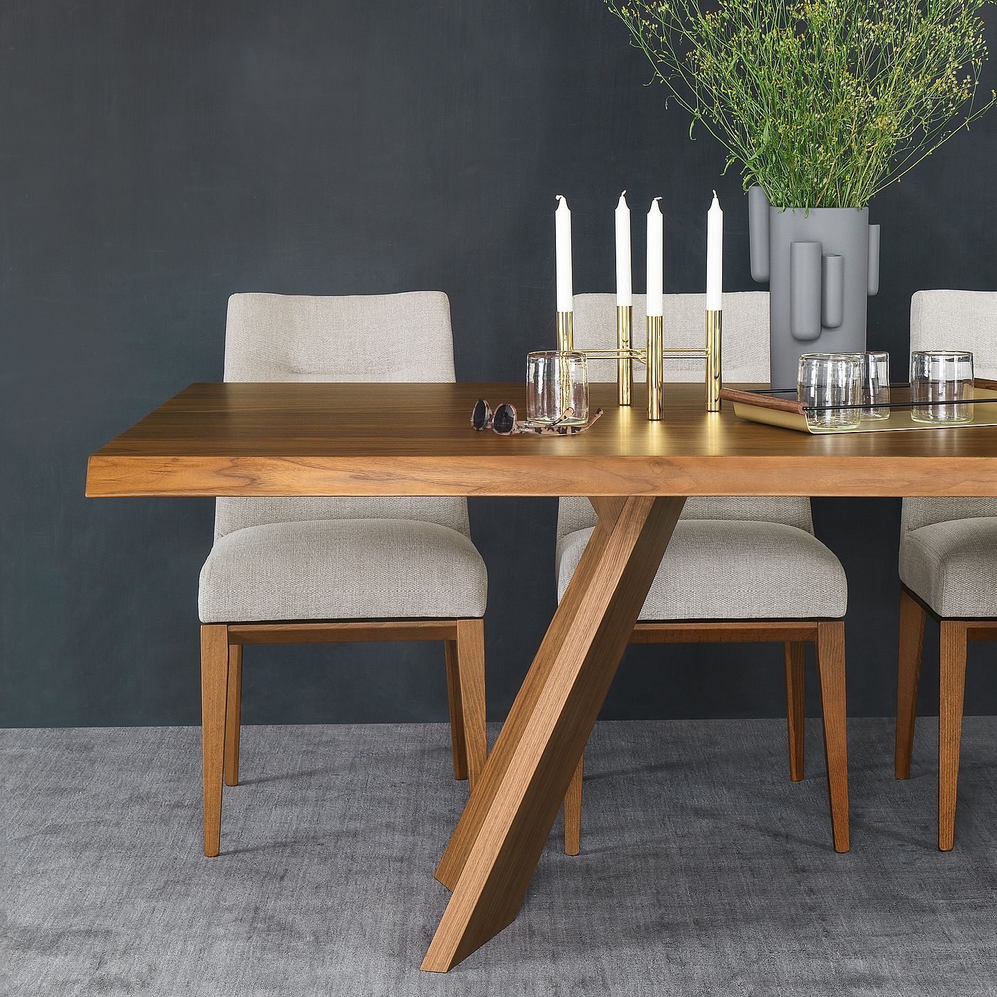Current Home Furniture: Italian Design Furnishingcalligaris – Calligaris Throughout North Reading 5 Piece Dining Table Sets (View 6 of 25)