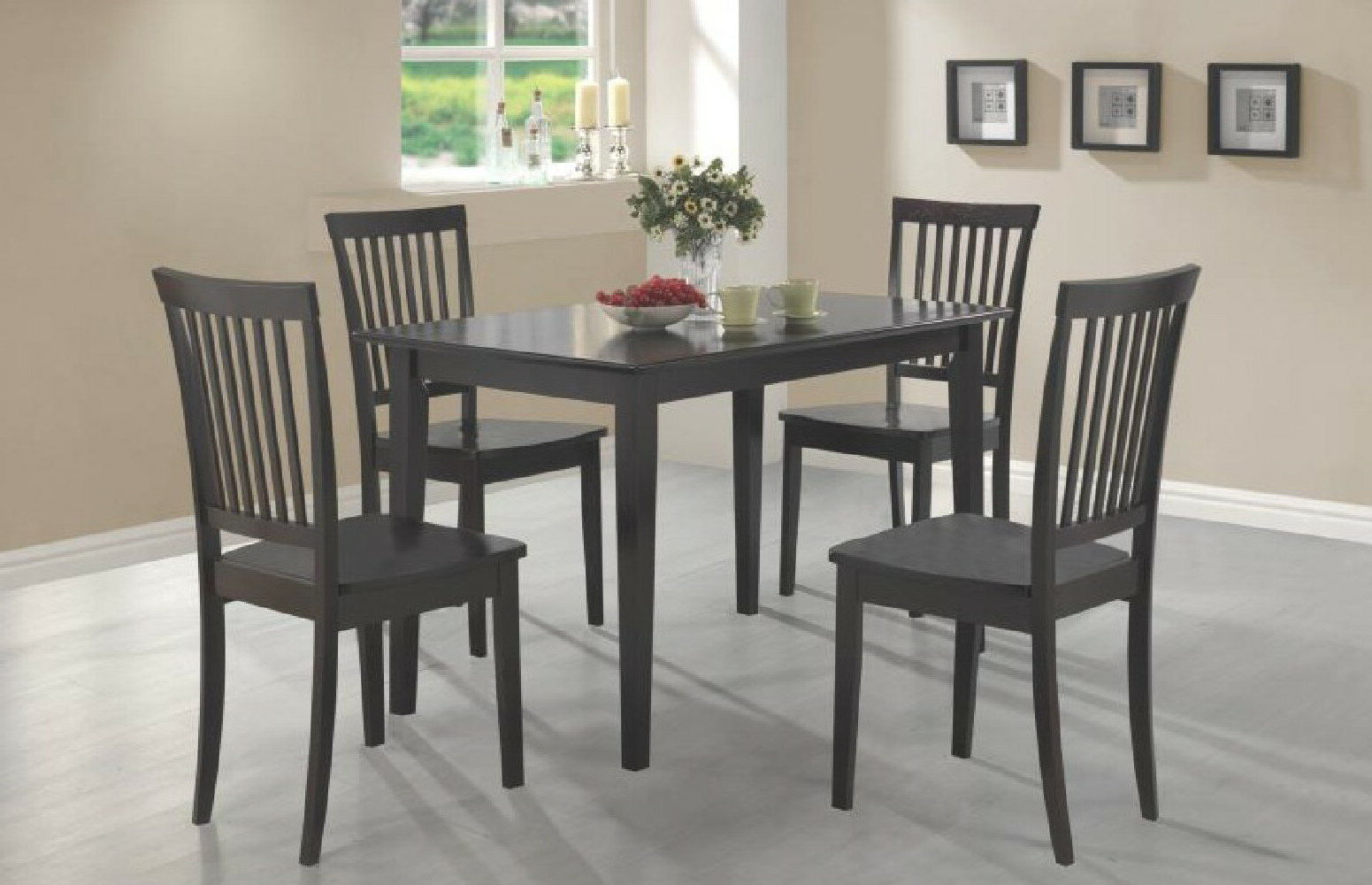 Current Pattonsburg 5 Piece Dining Sets Intended For Winston Porter Yeomans Sawyer 5 Piece Dining Set (View 3 of 25)