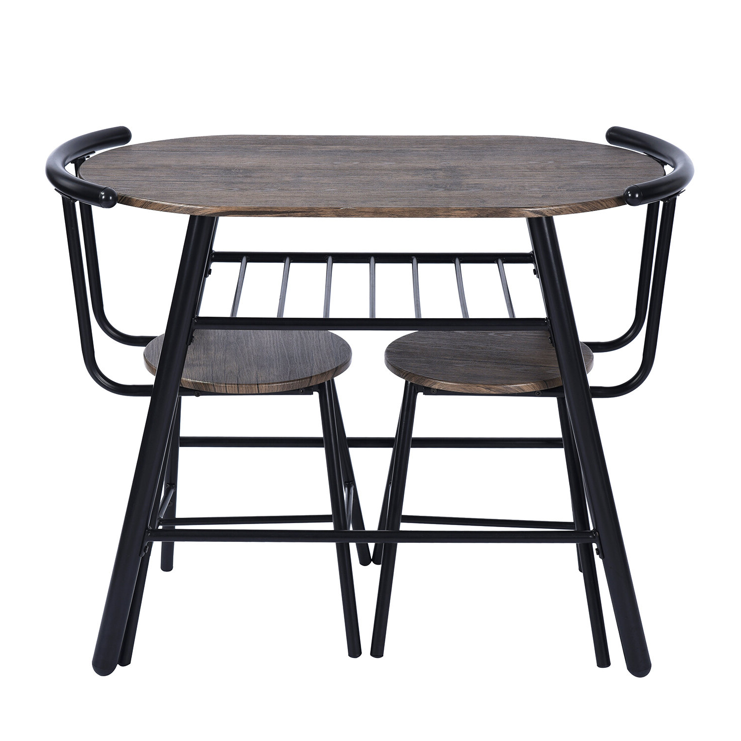 Debby Small Space 3 Piece Dining Sets within Well known Details About Williston Forge Peckham 3 Piece Dining Set