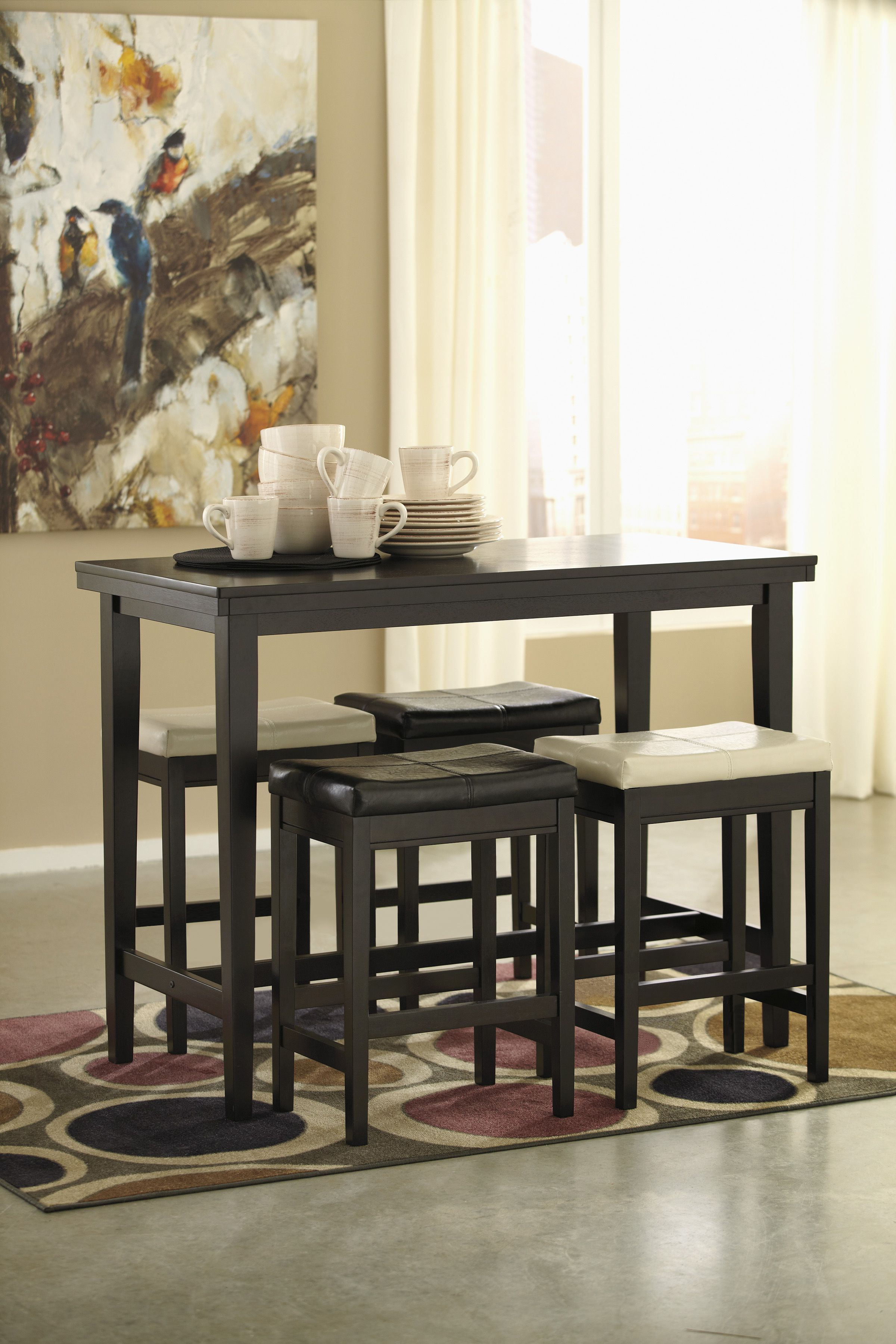 Dining For with regard to Most Current Hood Canal 3 Piece Dining Sets