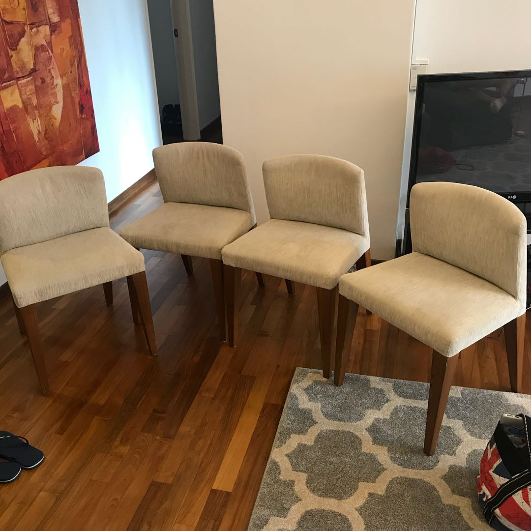 Dining Room Chair Set (4 Pieces) John Erdos Chairs, Furniture intended for Well-known John 4 Piece Dining Sets