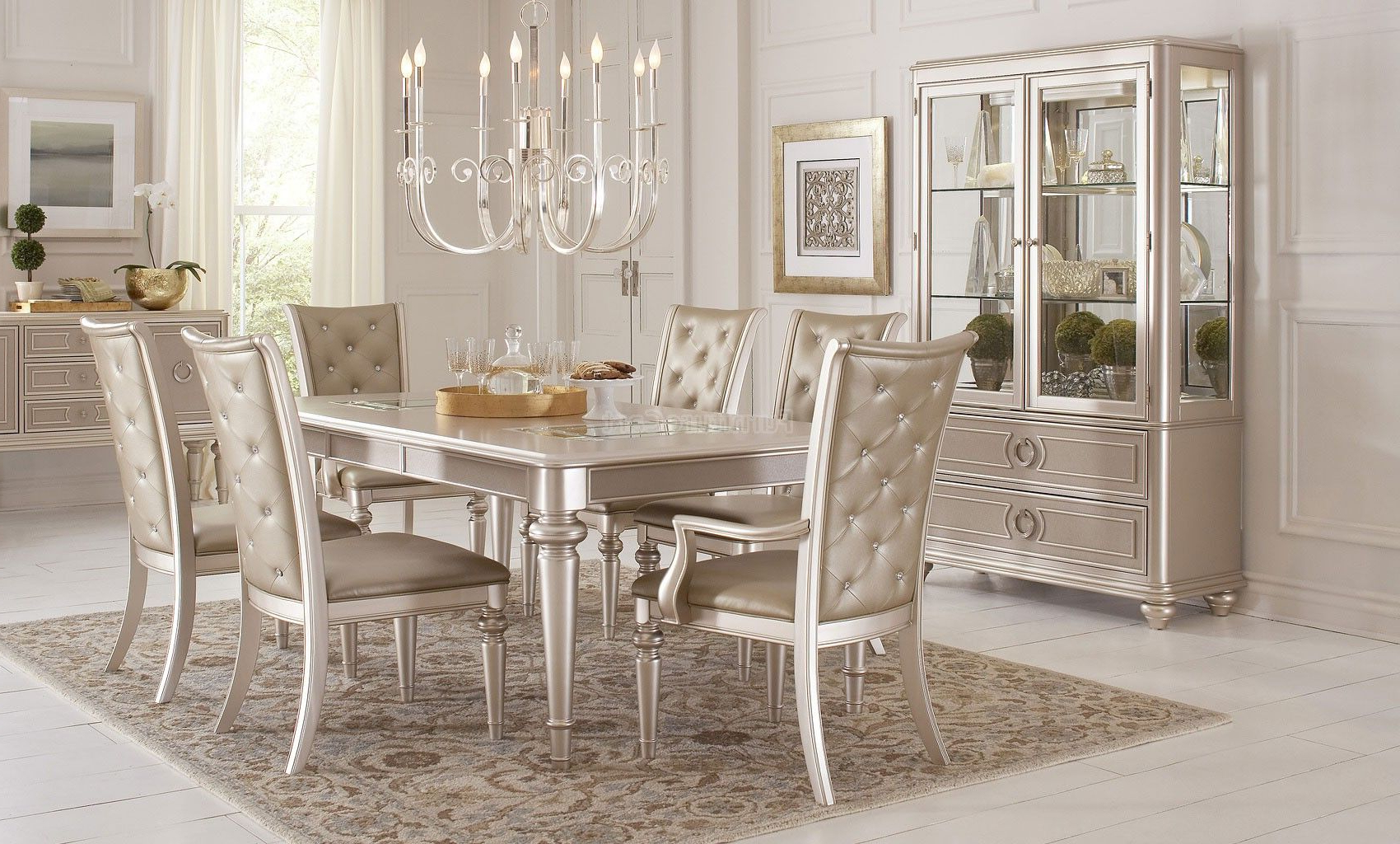 Dynasty Dining Room Set In 2019 (Gallery 11 of 25)