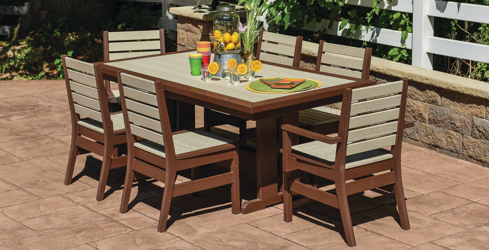 E.c. Woods Throughout Famous Saintcroix 3 Piece Dining Sets (Gallery 16 of 25)