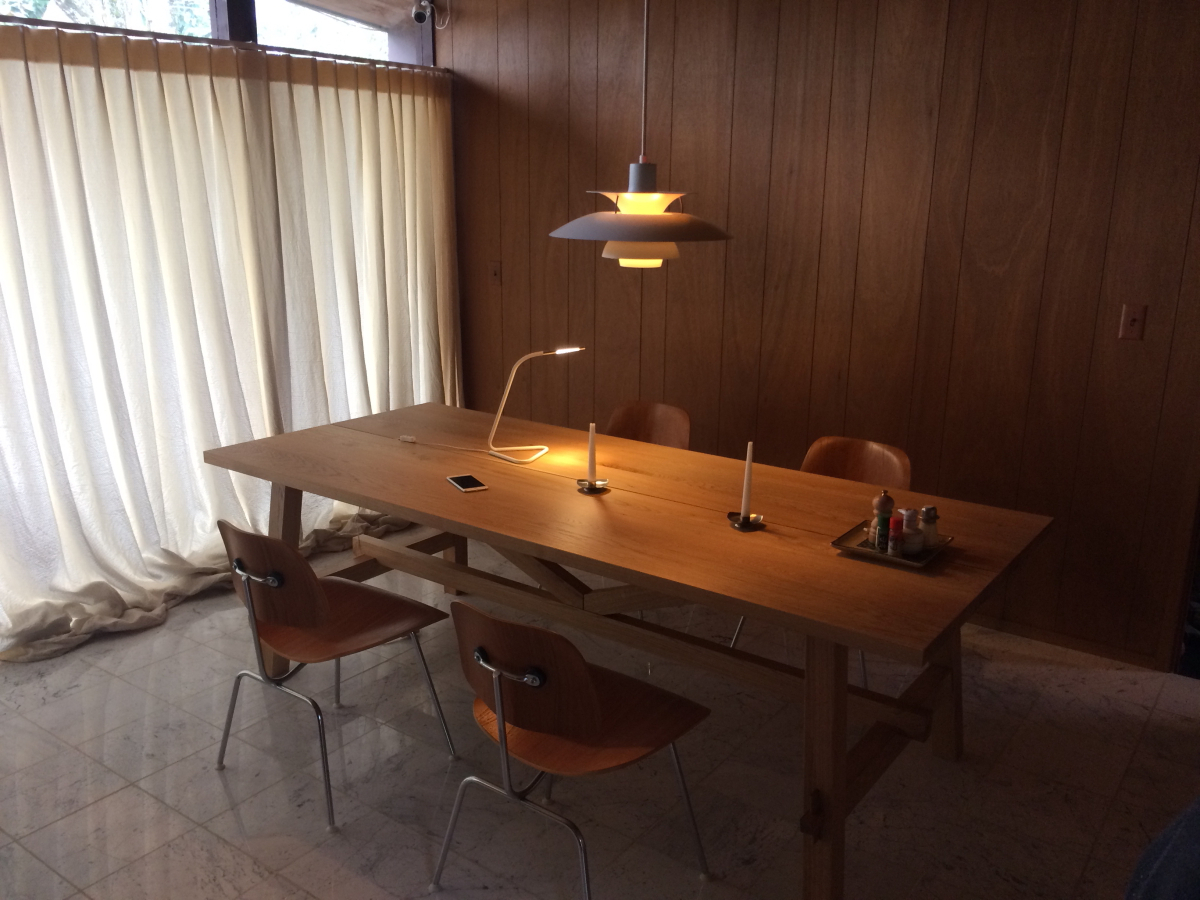 Eat, Drink, Men, Women 飲食男女: My Giant Dining Table With 2019 Isolde 3 Piece Dining Sets (View 3 of 25)