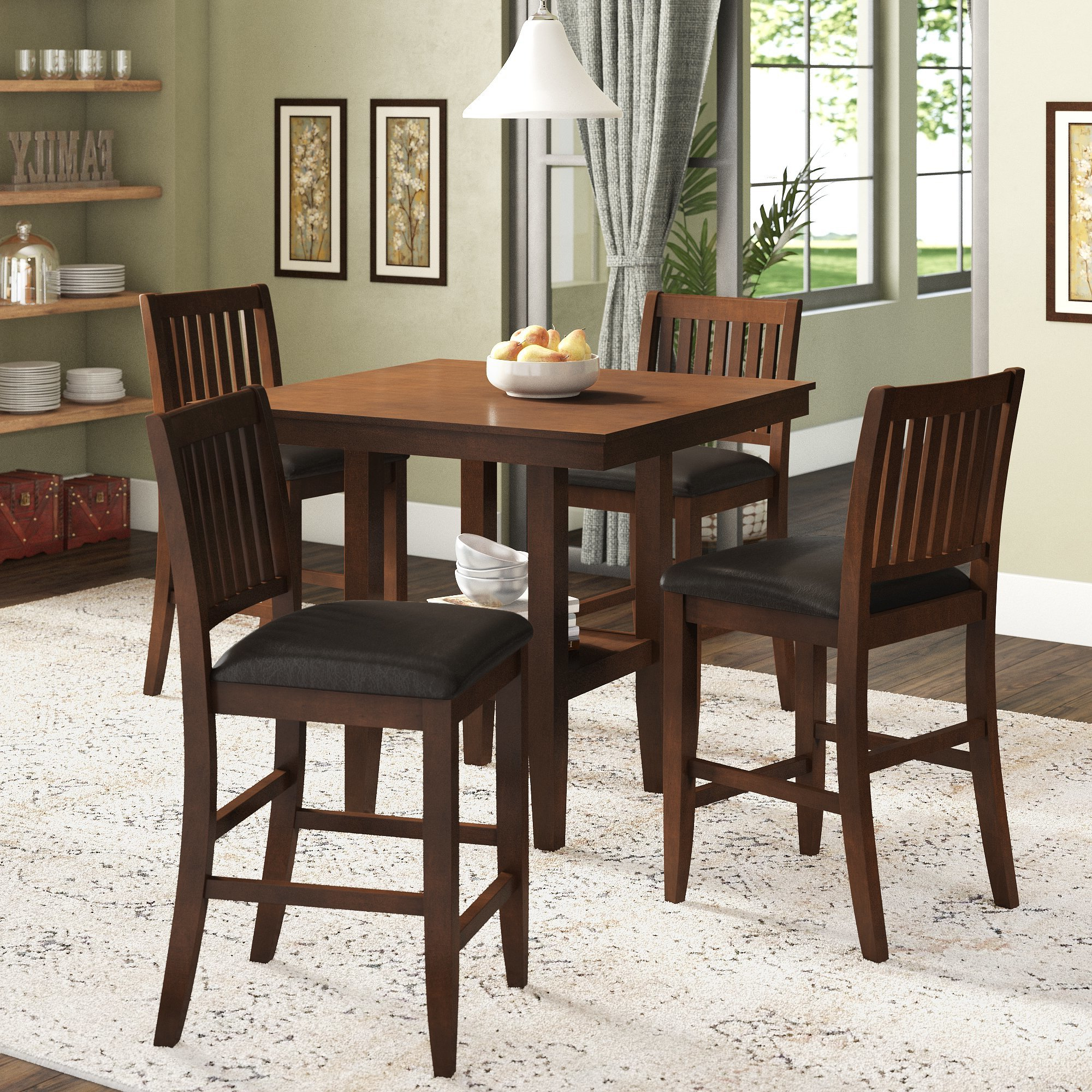 Ebay pertaining to Preferred Kerley 4 Piece Dining Sets