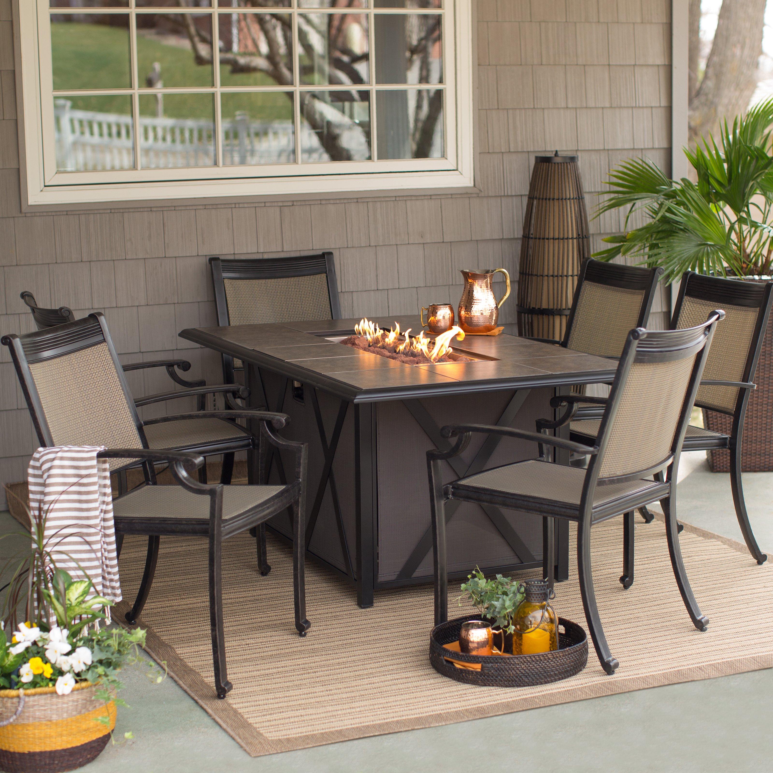 Ebern Designs Tarleton 5 Piece Dining Set – Walmart For Preferred Tarleton 5 Piece Dining Sets (Gallery 3 of 25)