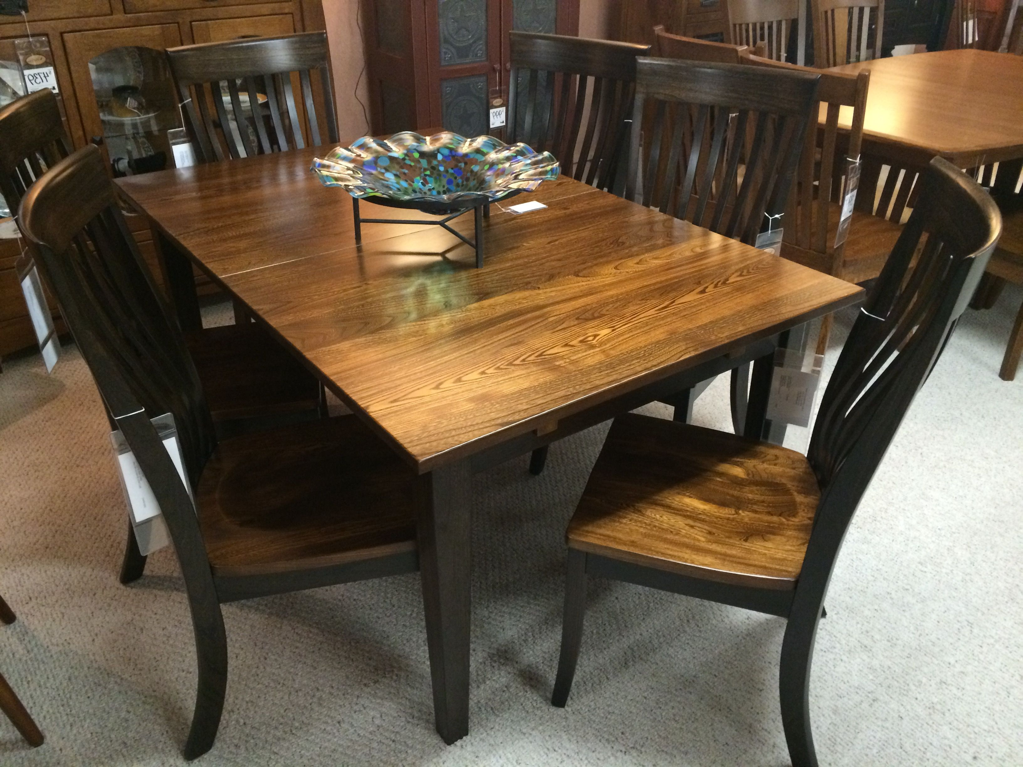 Emmeline 5 Piece Breakfast Nook Dining Sets in Well-liked Gorgeous Elm Amish Made Dining Room Set!
