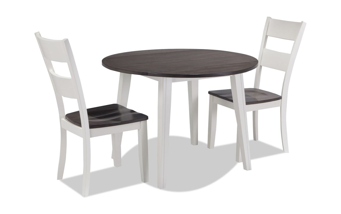 Ephraim 5 Piece Dining Sets Throughout Well Known Blake 3 Piece Drop Leaf Set (View 12 of 25)