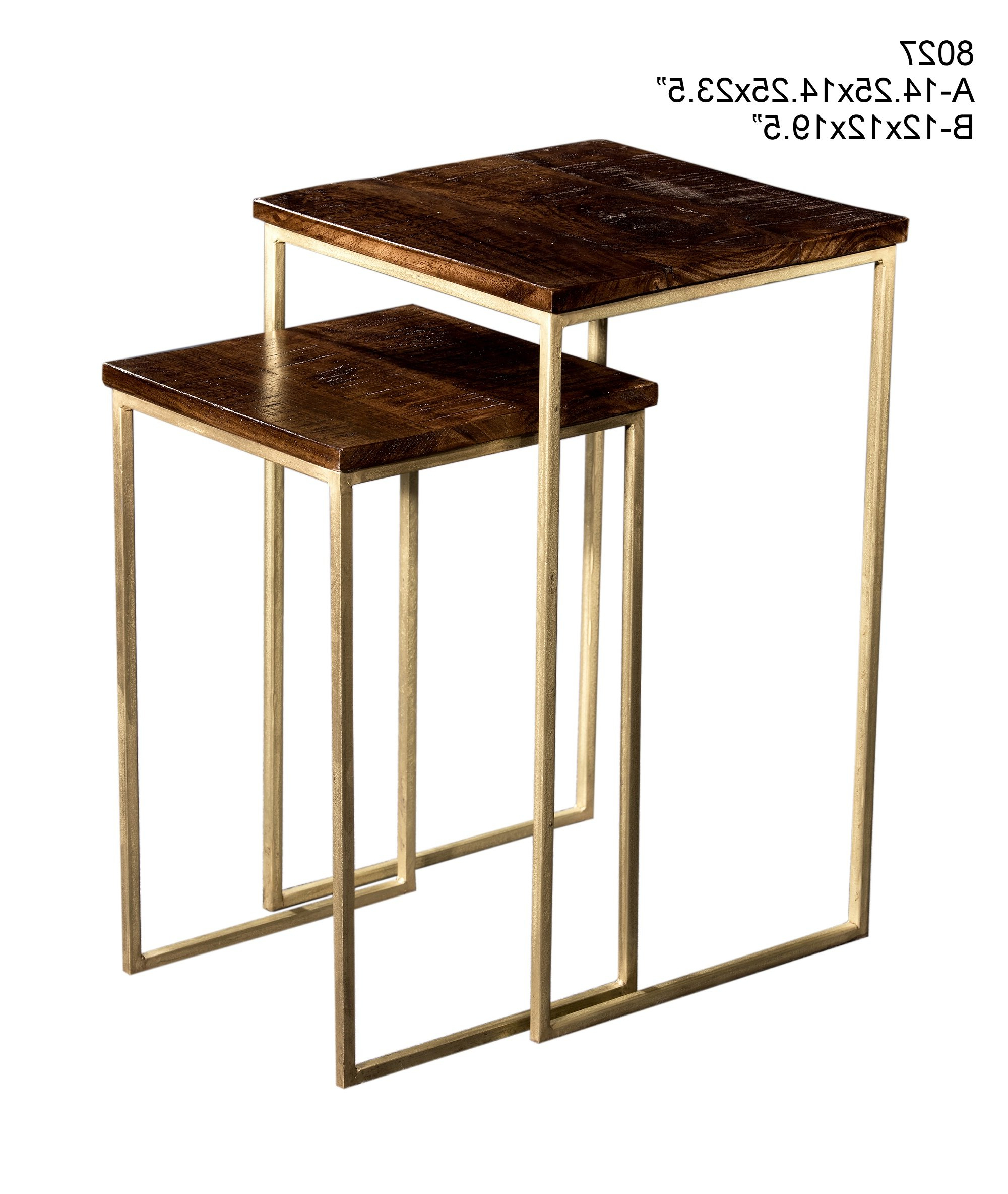 Eudora 2 Piece Nesting Tables (View 3 of 25)