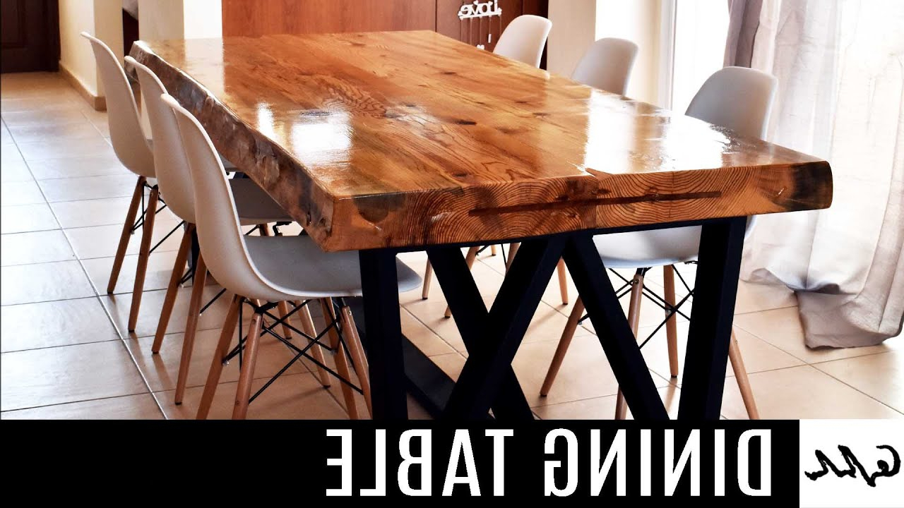 Falmer 3 Piece Solid Wood Dining Sets Inside Most Up To Date Dining Table – Youtube (View 24 of 25)