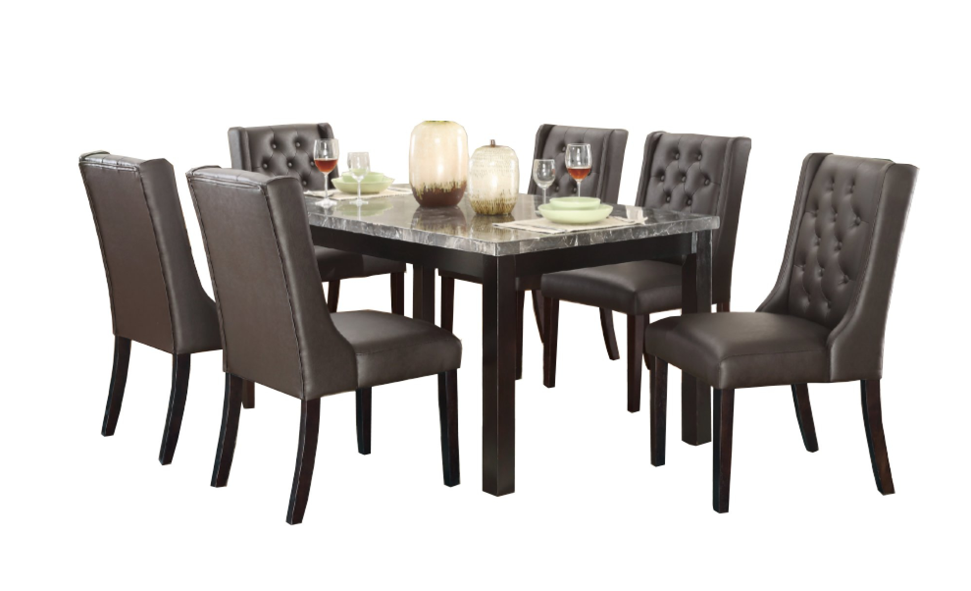 Famous Laconia 7 Pieces Solid Wood Dining Sets (Set Of 7) Regarding Alcott Hill Haigh 7 Piece Dining Set (View 4 of 25)