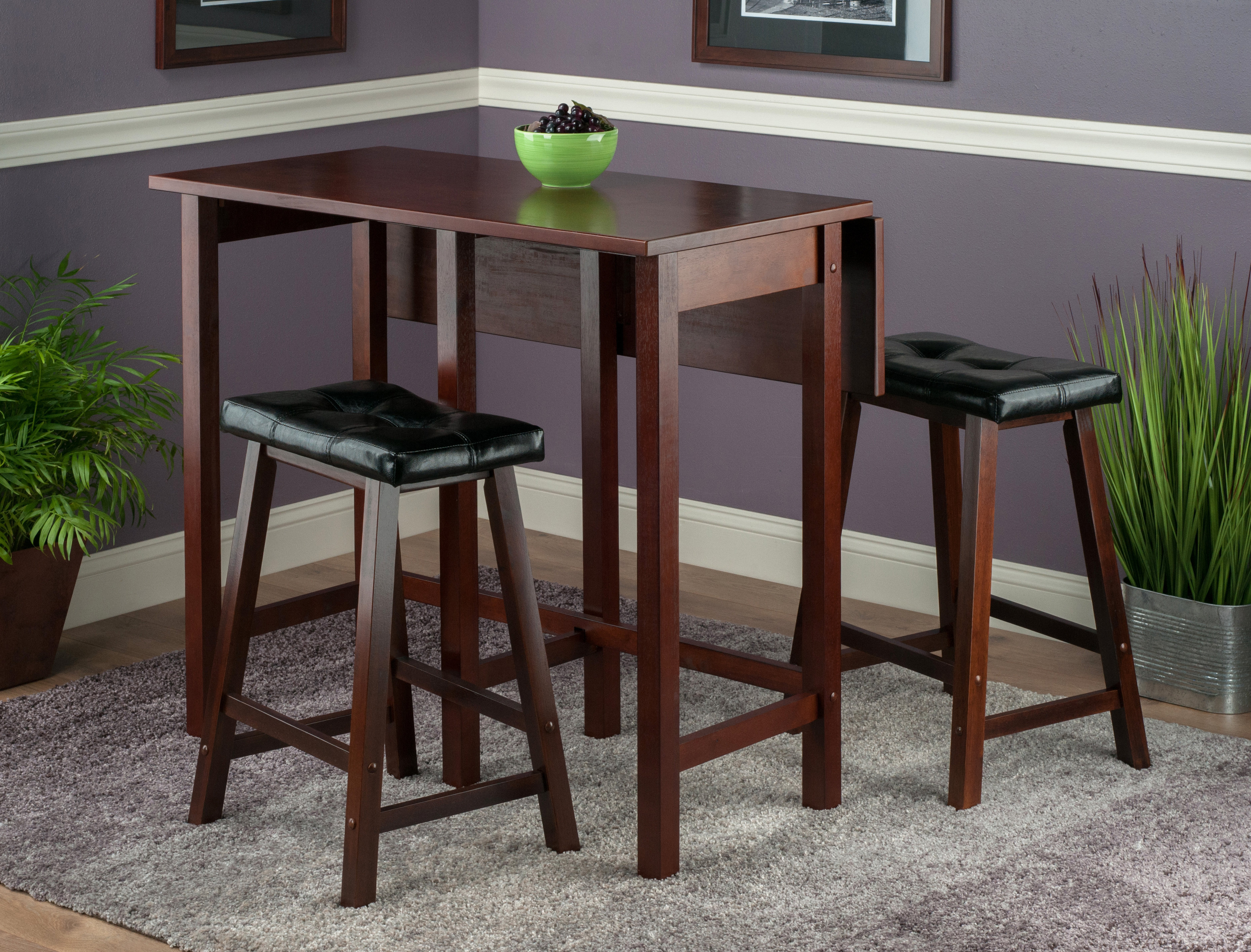 Famous Red Barrel Studio Bettencourt 3 Piece Counter Height Dining Set Intended For Crownover 3 Piece Bar Table Sets (View 13 of 25)