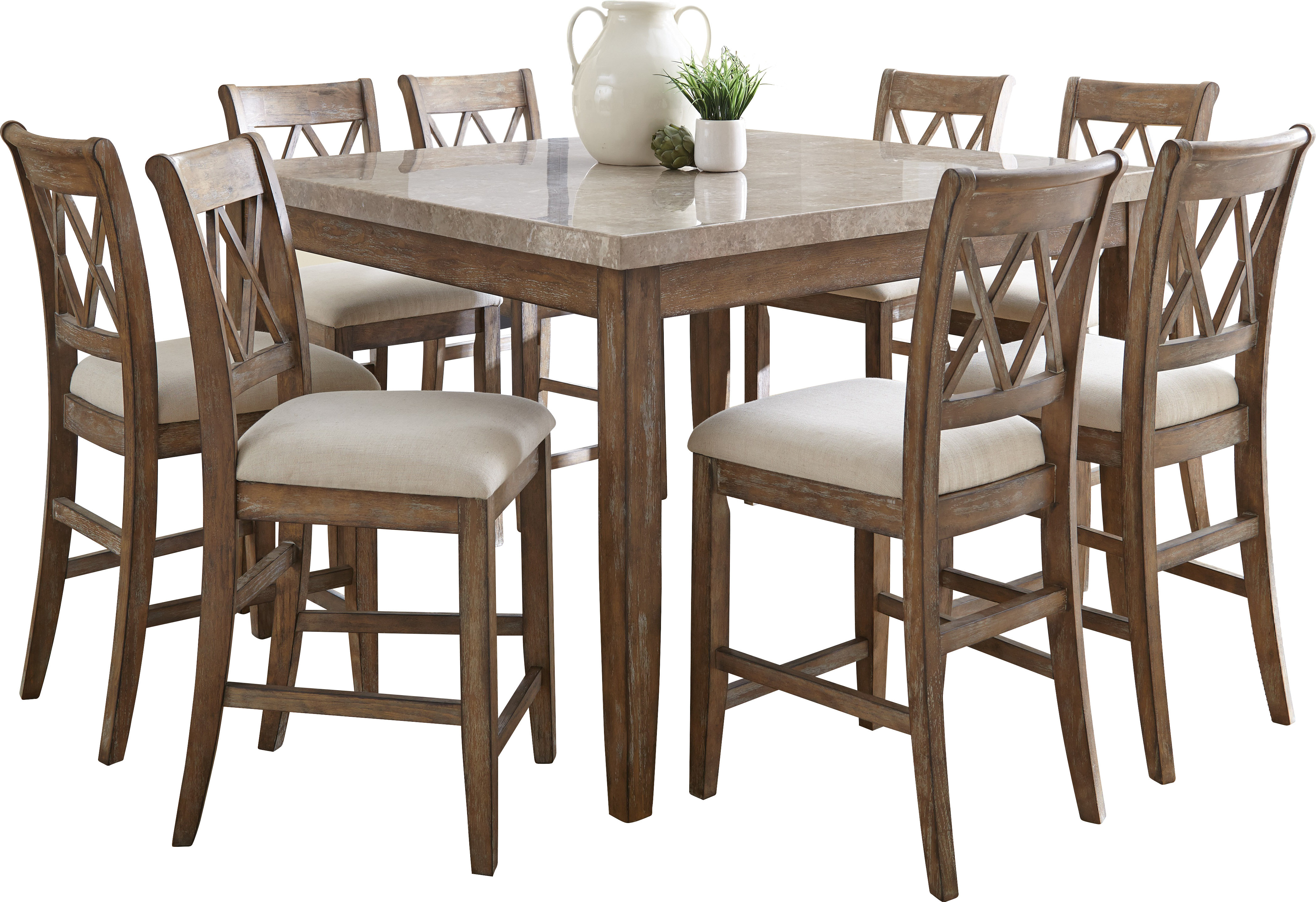 Fashionable Clearmont 9 Piece Dining Set (View 12 of 25)