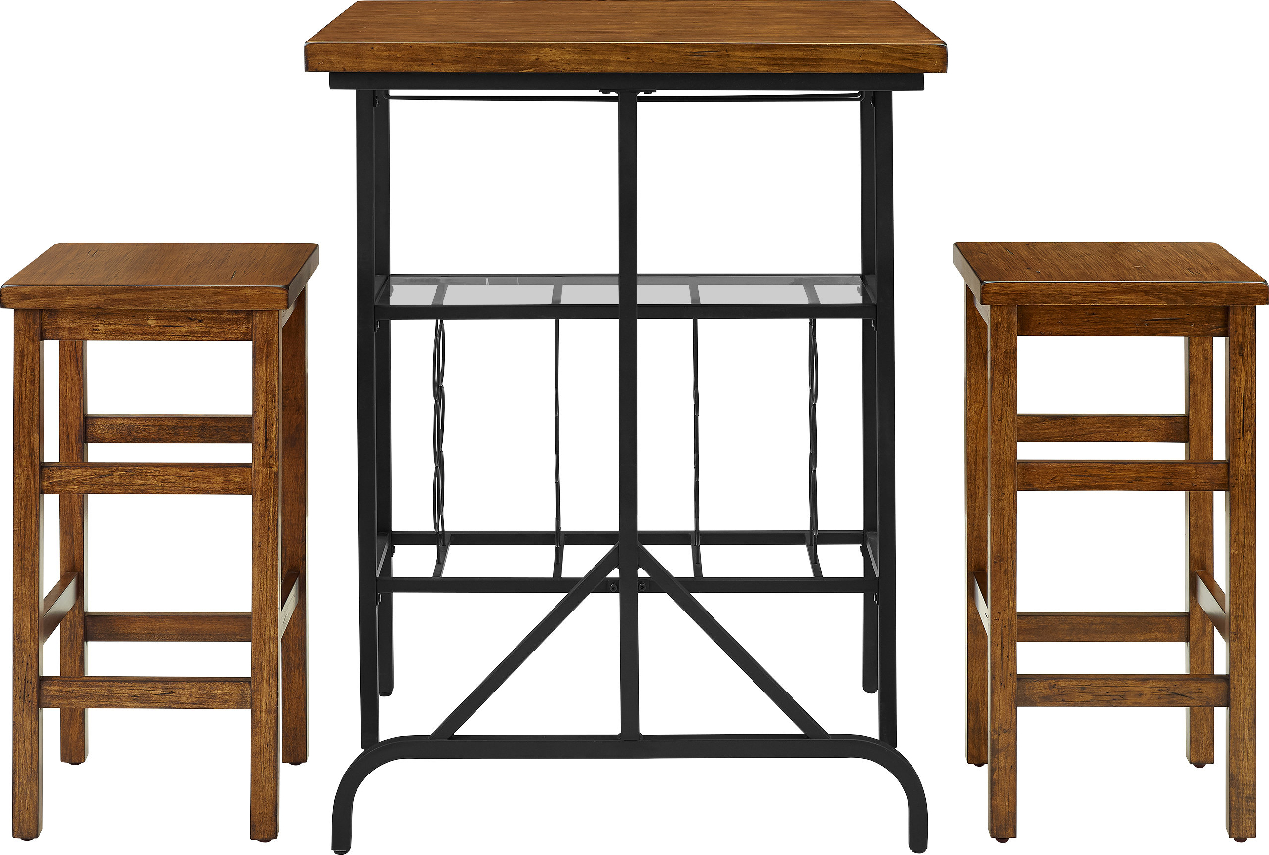 Fashionable Maloney 3 Piece Breakfast Nook Dining Sets Throughout Loon Peak Ordway 3 Piece Dining Set & Reviews (View 13 of 25)