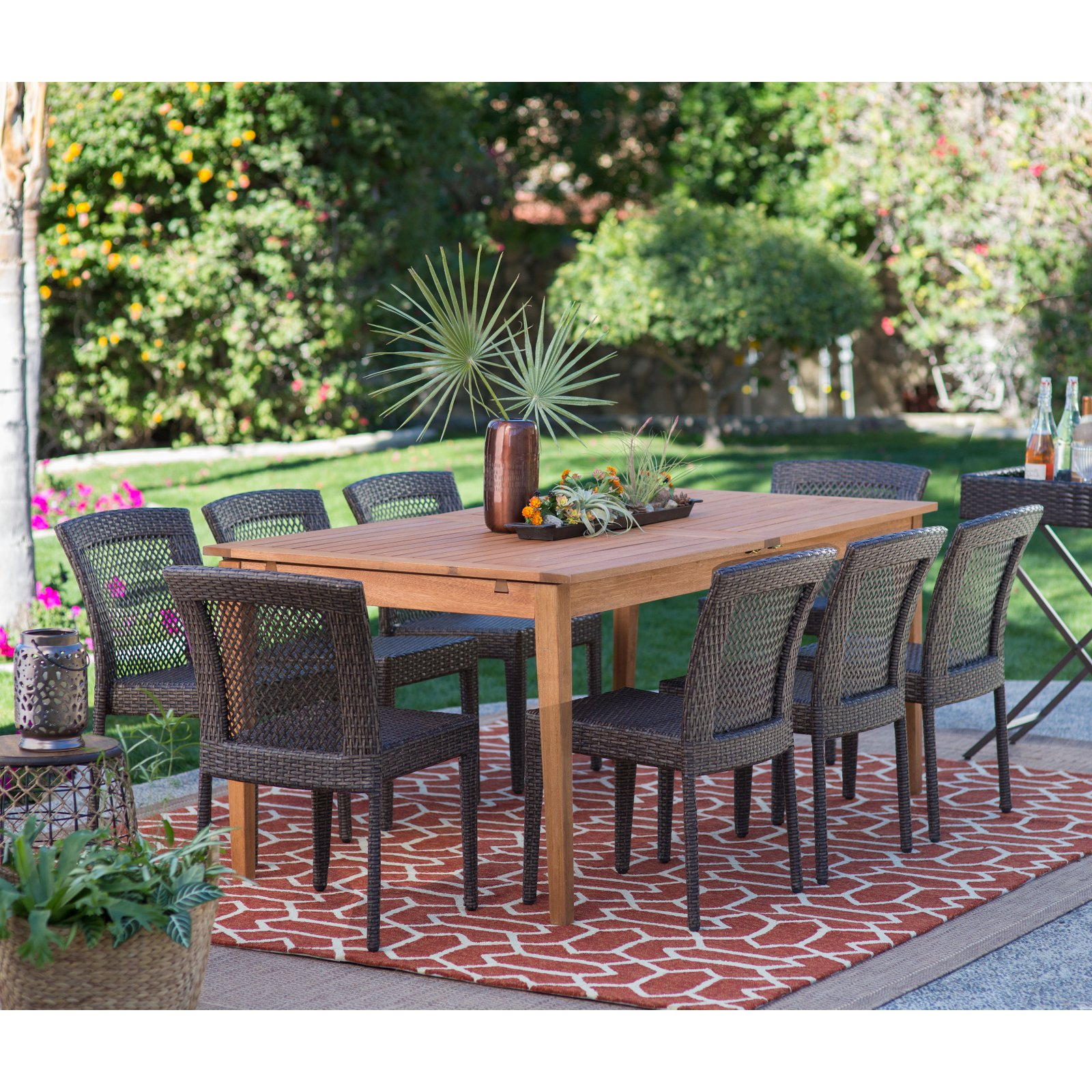 Favorite Ebern Designs Tarleton 5 Piece Dining Set – Walmart With Regard To Tarleton 5 Piece Dining Sets (View 13 of 25)