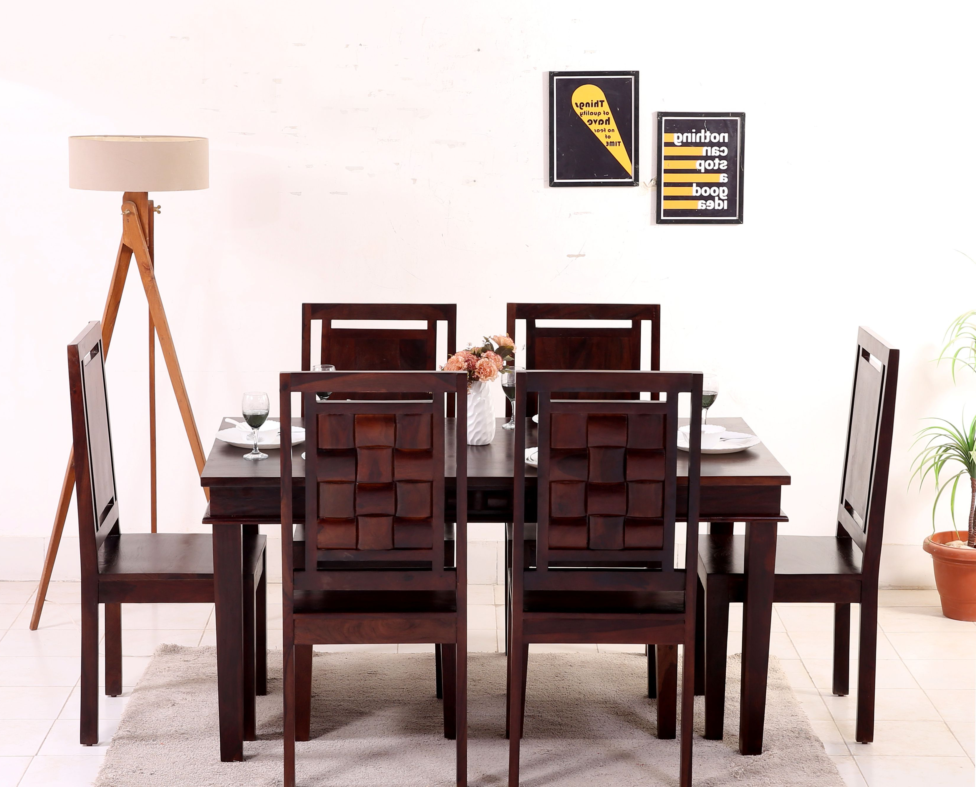 Favorite Give A Simple And Royal Look To Your Dining Space With The Inside Baxton Studio Keitaro 5 Piece Dining Sets (View 9 of 25)