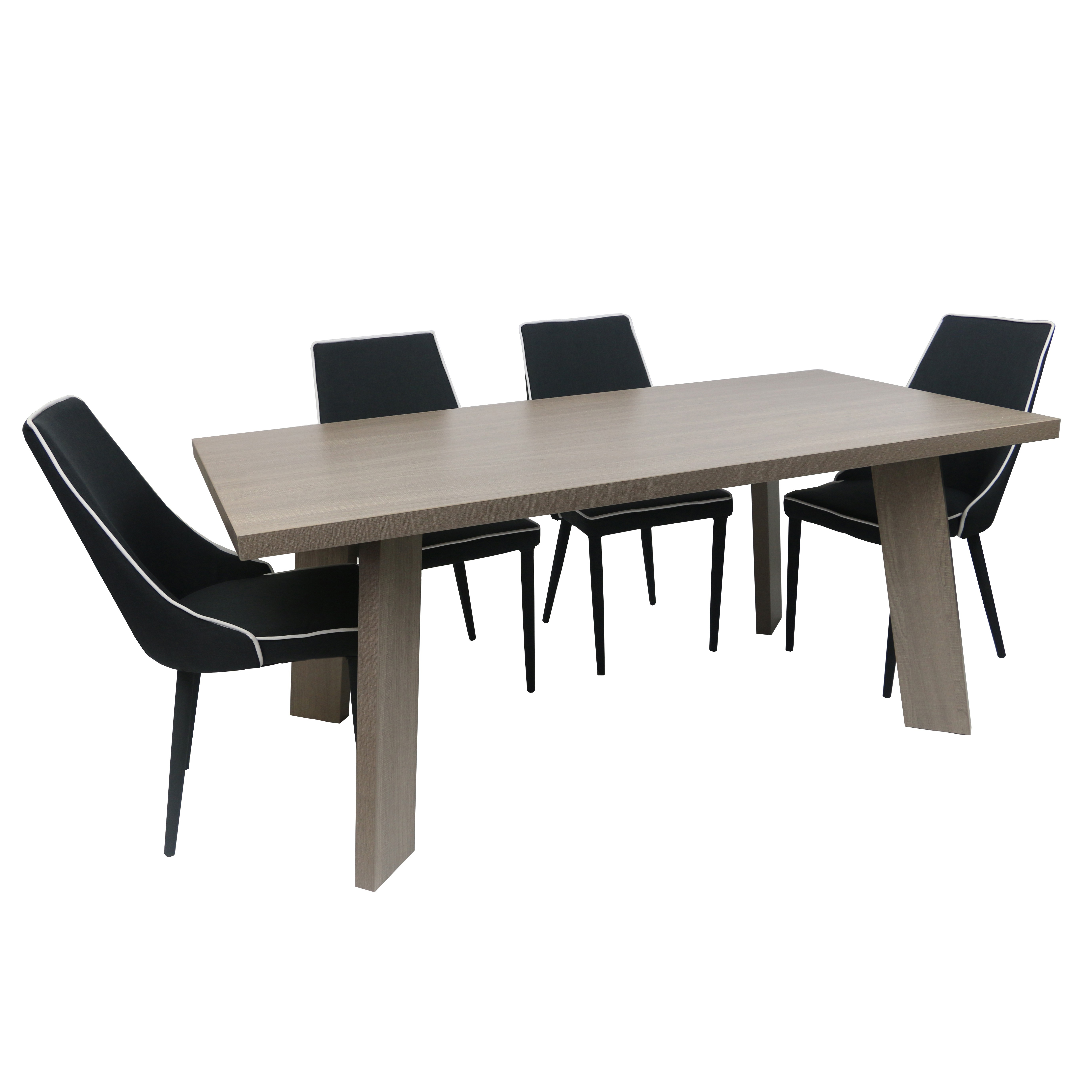 Favorite Lonon 3 Piece Dining Sets For Melamine Dining Table London In 3 Colors (View 8 of 25)