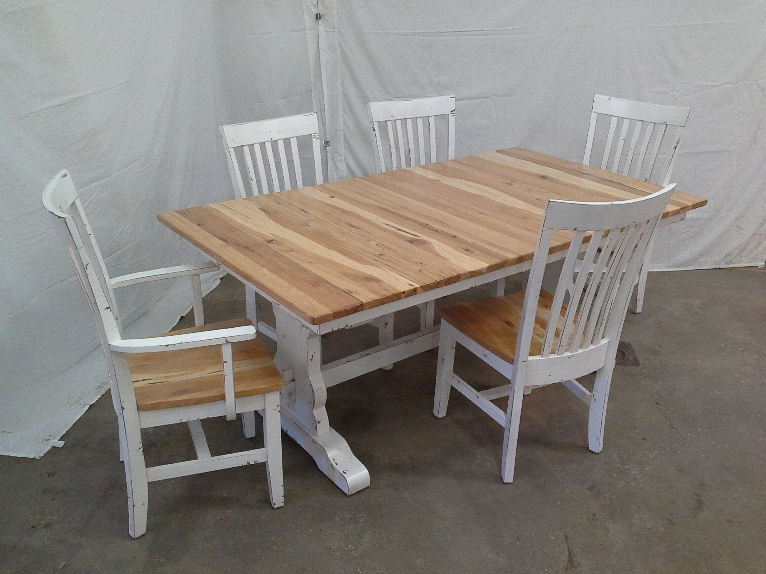 Favorite Rustic Furniture For Home Or Cabin Throughout Reinert 5 Piece Dining Sets (View 9 of 25)