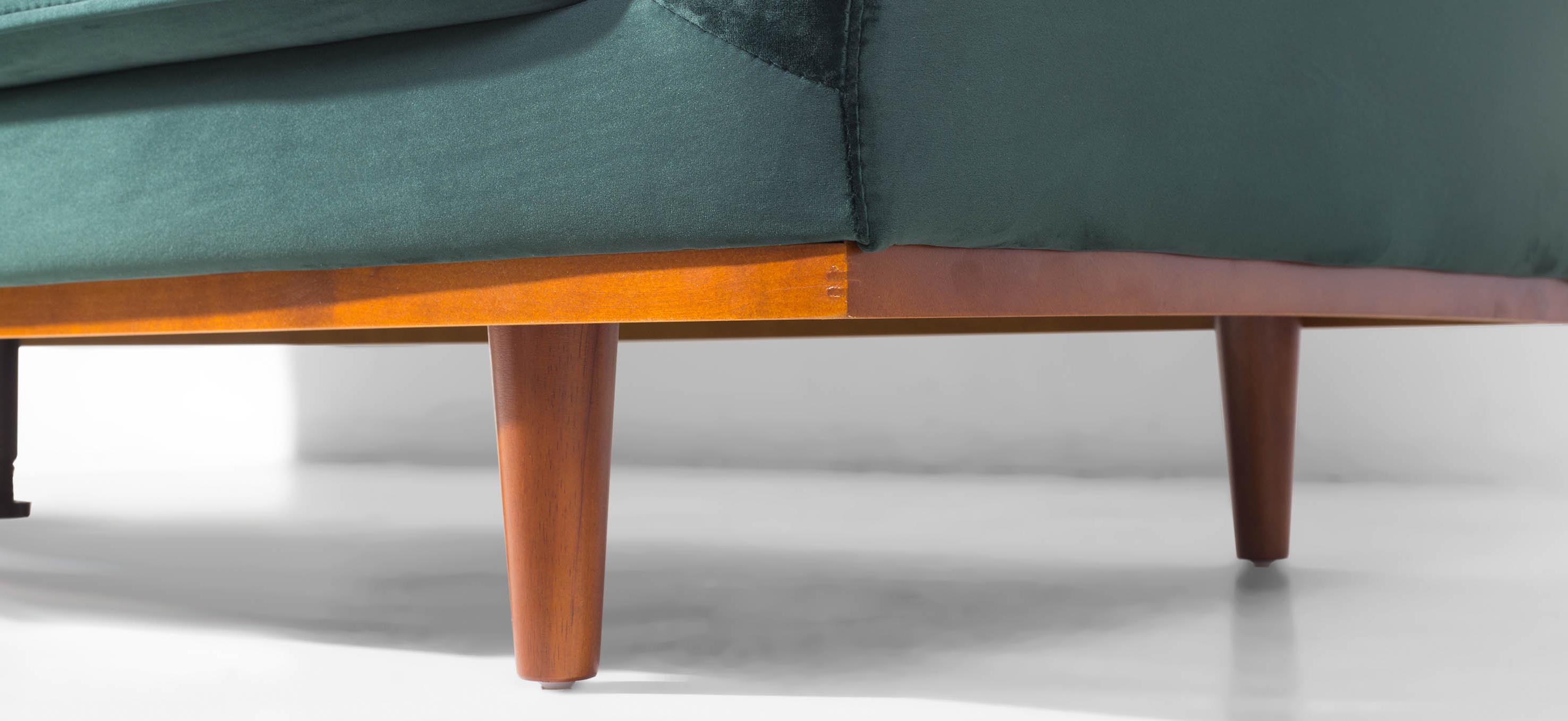 Freida 3 Seater Sofa (Emerald Green) Regarding Newest Frida 3 Piece Dining Table Sets (View 25 of 25)