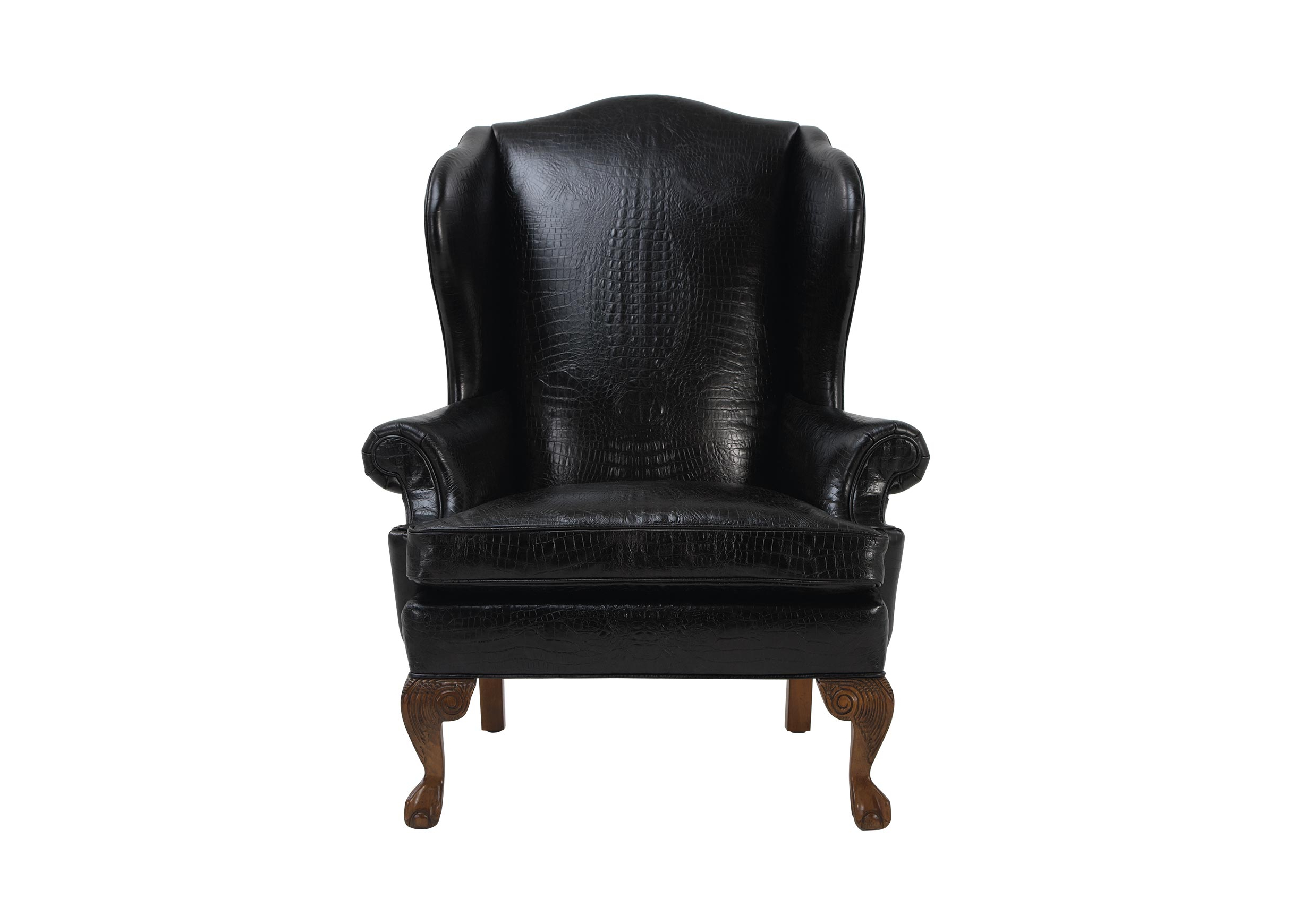 Giles Leather Chair (View 20 of 25)
