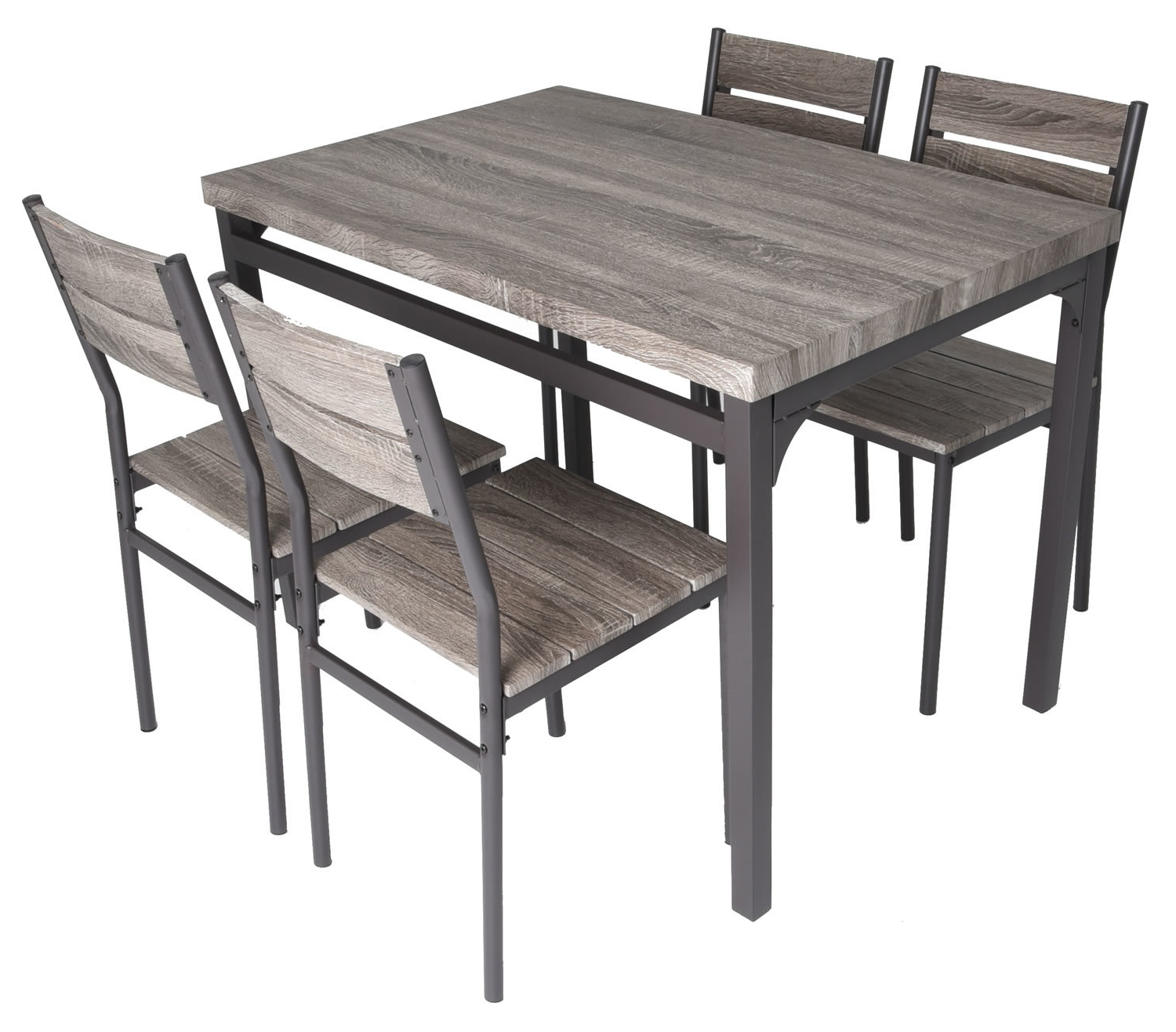Gracie Oaks Emmeline 5 Piece Breakfast Nook Dining Set & Reviews With Regard To Preferred 5 Piece Breakfast Nook Dining Sets (View 14 of 25)