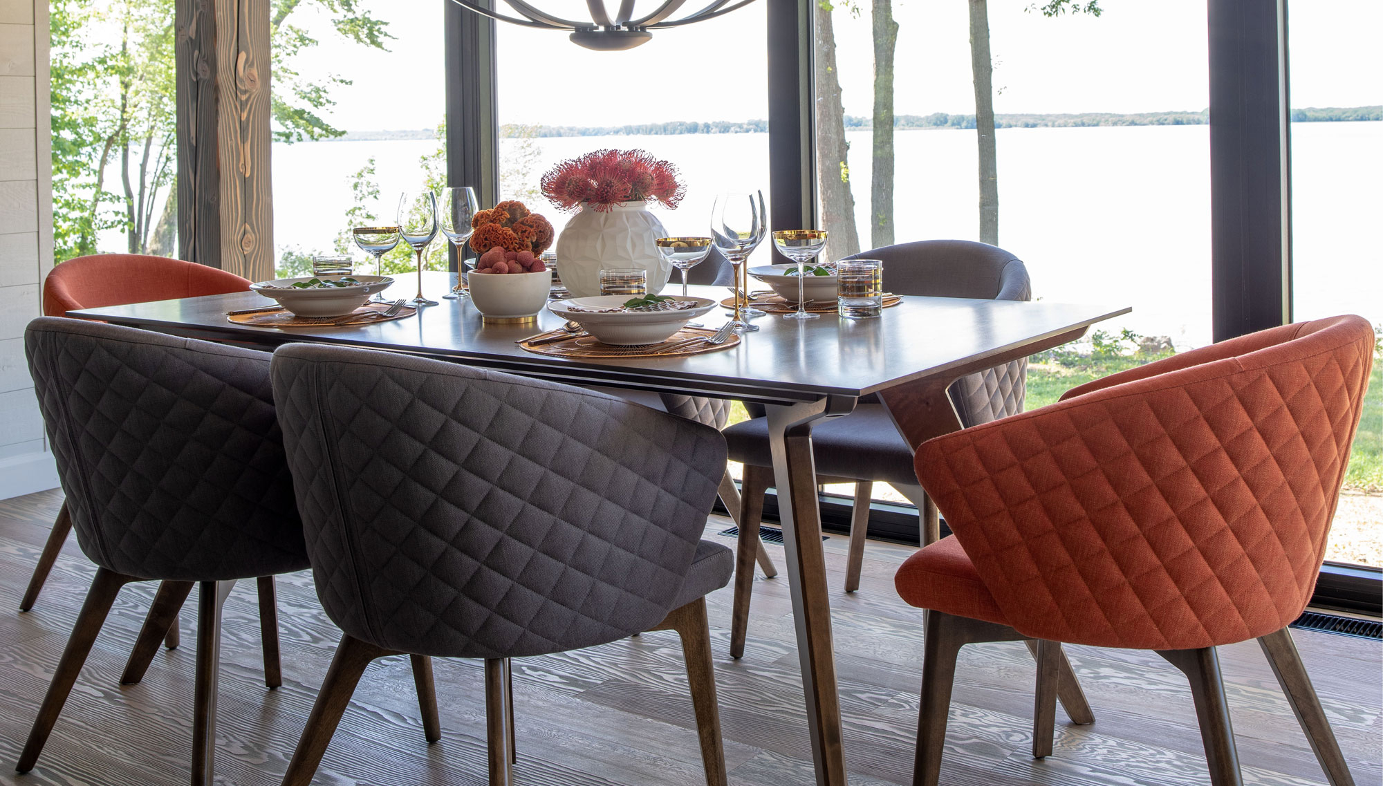 Handcrafted In North America – Kitchen And Dining Room – Canadel With Favorite North Reading 5 Piece Dining Table Sets (Gallery 21 of 25)