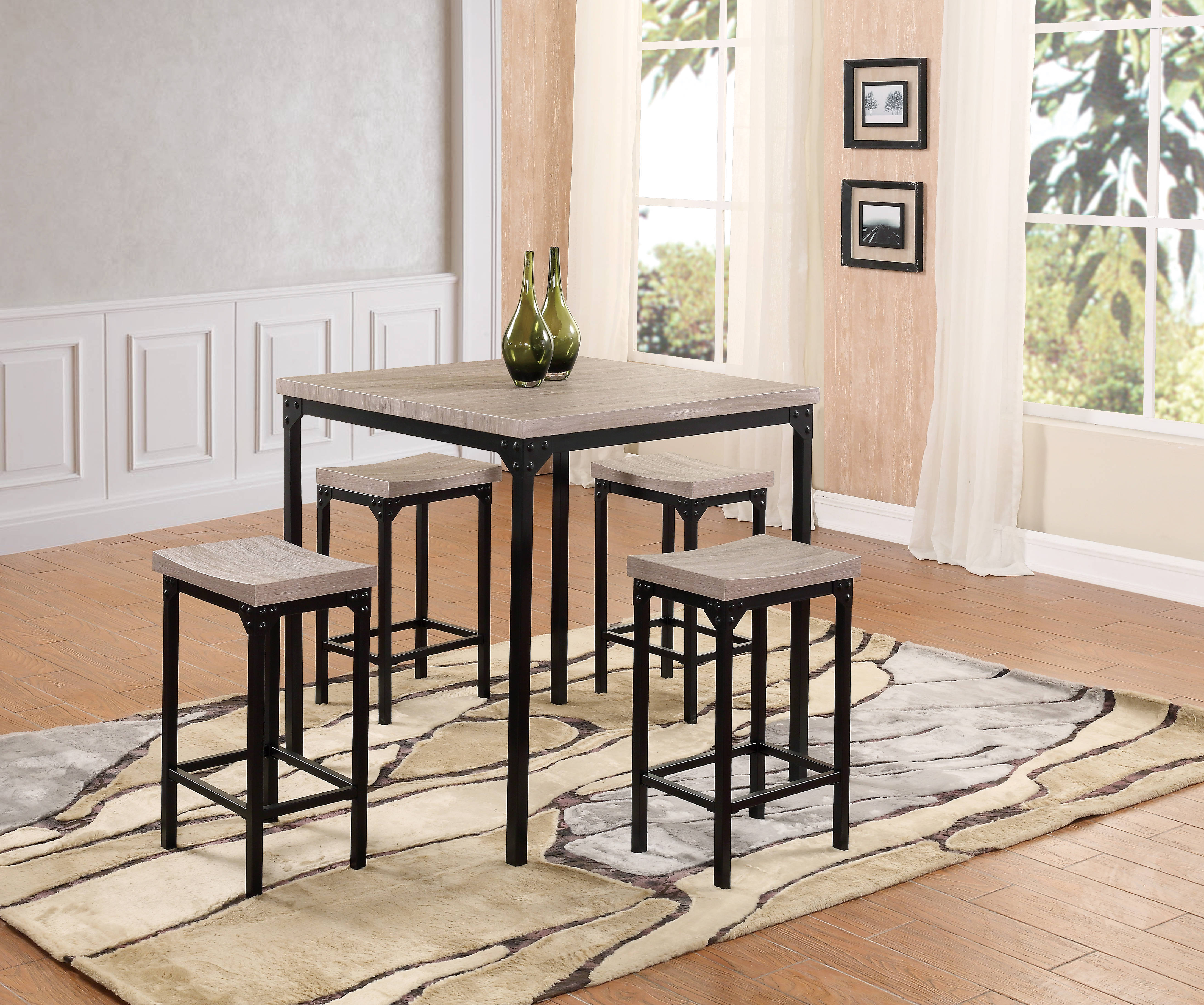 Home Design Ideas Intended For Middleport 5 Piece Dining Sets (View 5 of 25)