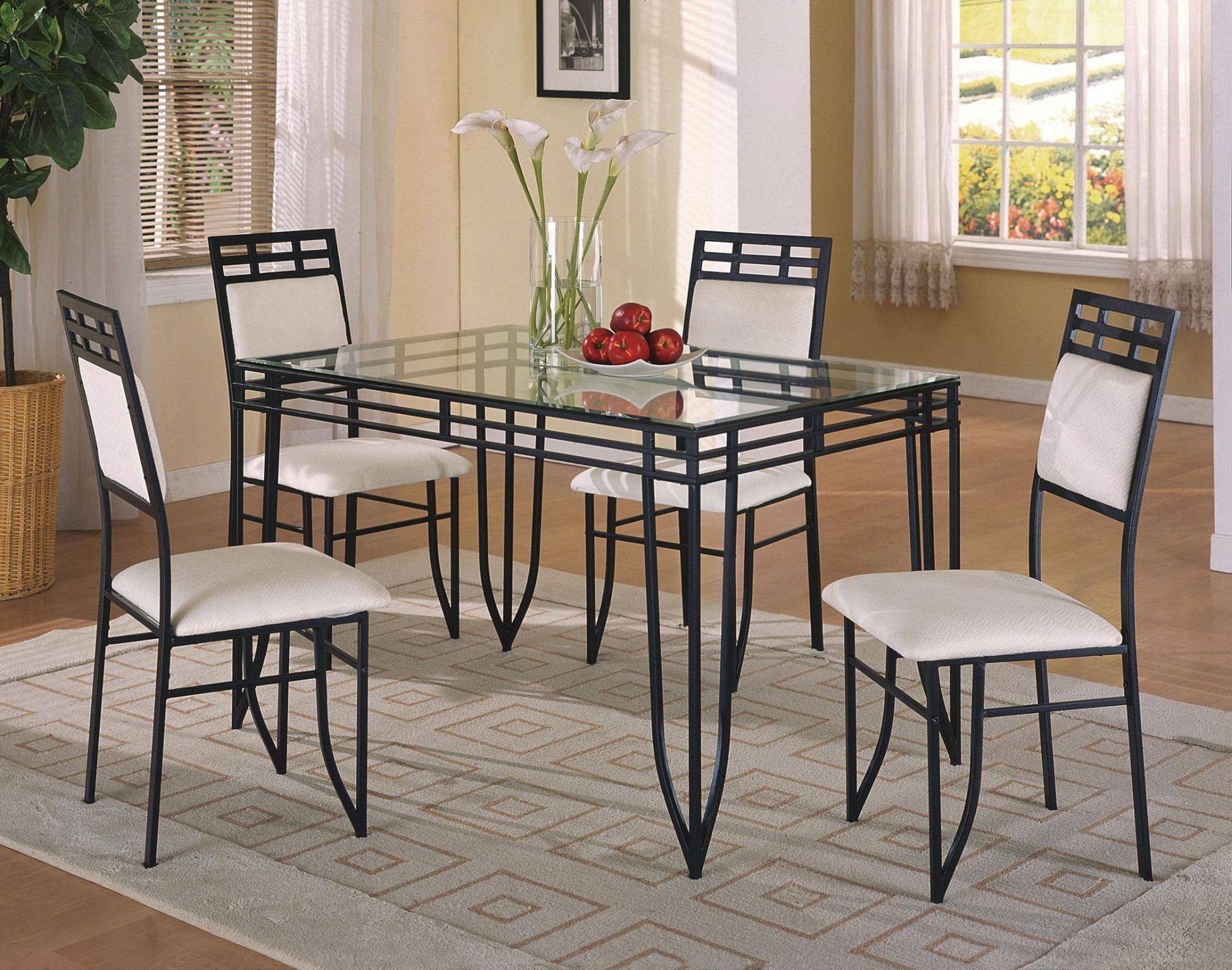 Home Design Ideas regarding Middleport 5 Piece Dining Sets