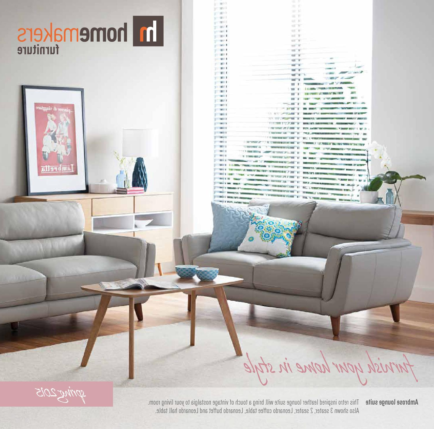 Homemakers Spring Catalogue 2015Homemakers Furniture – Issuu Inside Well Known Shepparton Vintage 3 Piece Dining Sets (View 18 of 25)